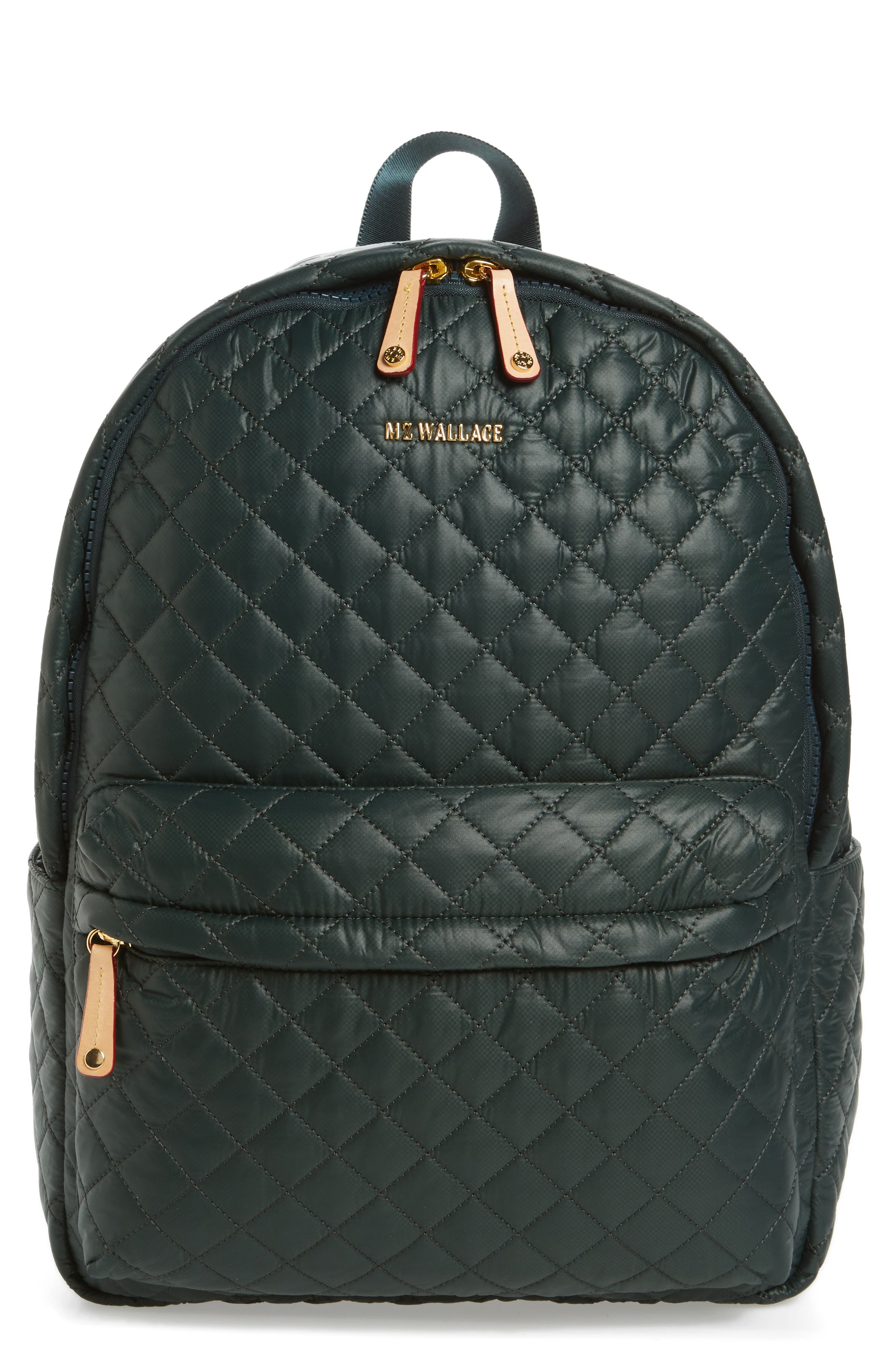 MZ Wallace 'Metro' Quilted Oxford Nylon Backpack