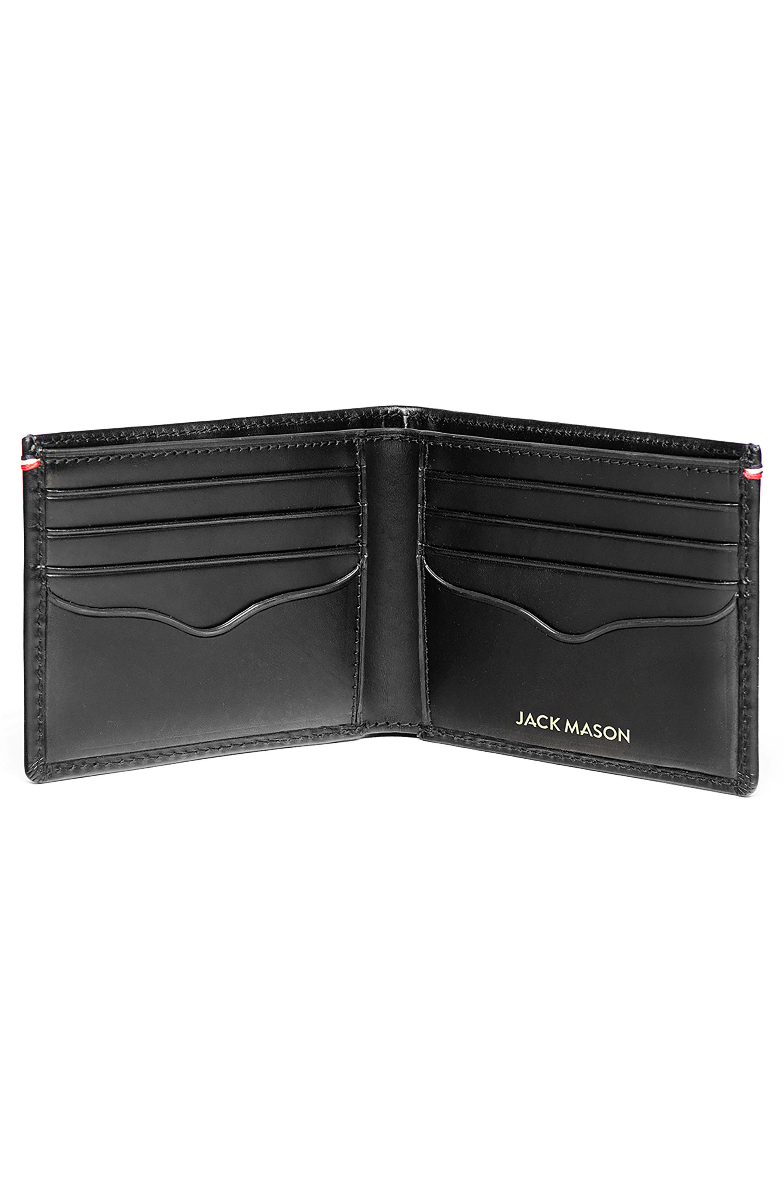 Core Leather Wallet,                             Alternate thumbnail 2, color,                             Black