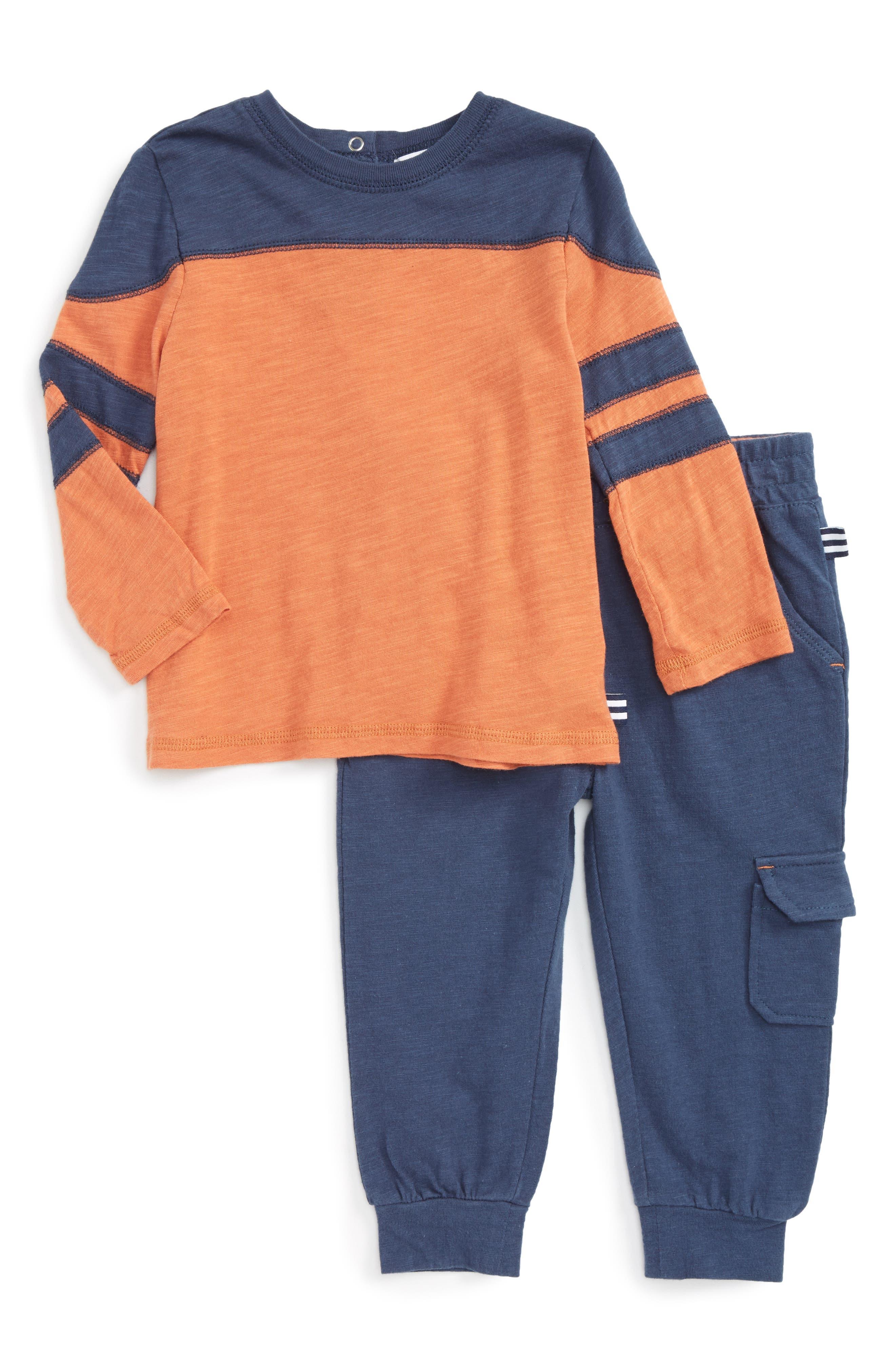 Splendid Football T-Shirt & Jogger Pants (Baby Boys)