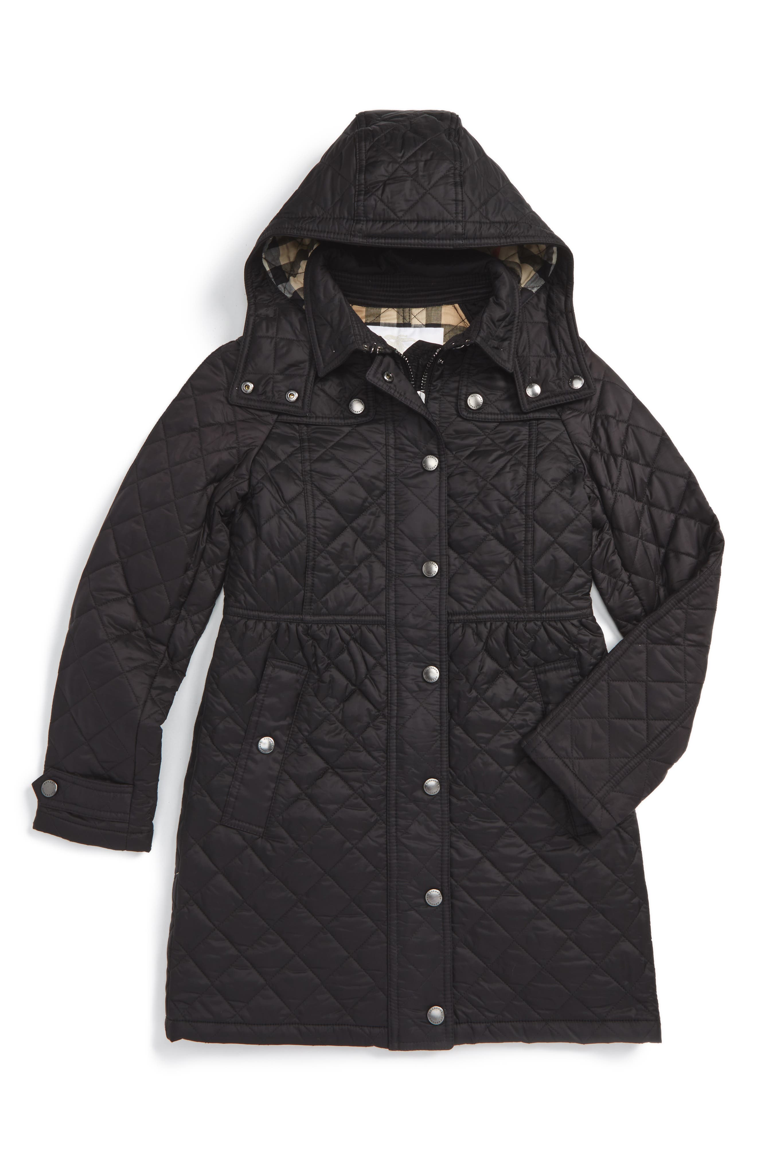 Burberry Foxmoore Quilted Coat (Little Girls & Big Girls)