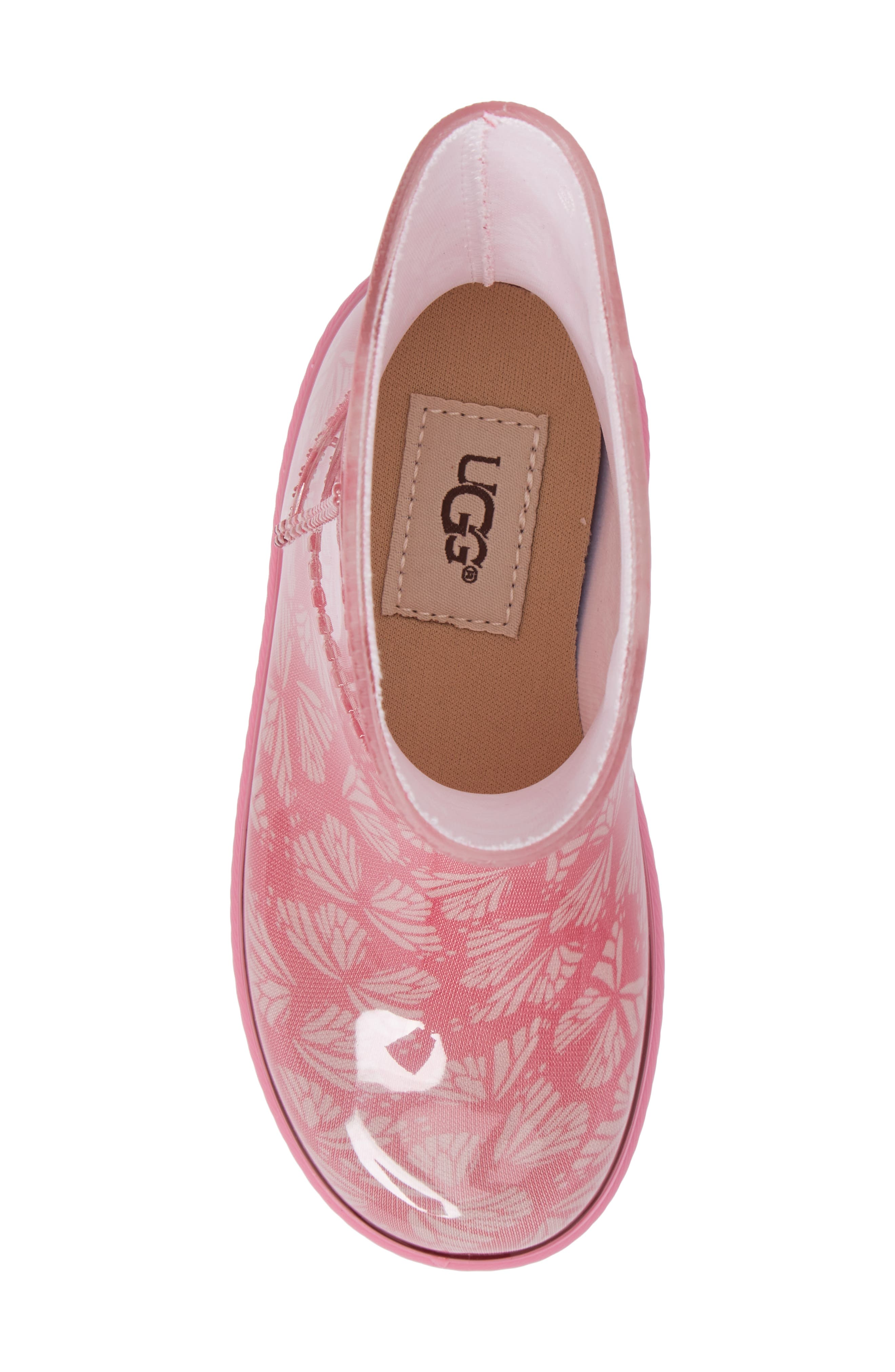 Rahjee Rain Boot,                             Alternate thumbnail 5, color,                             Pink Azalea