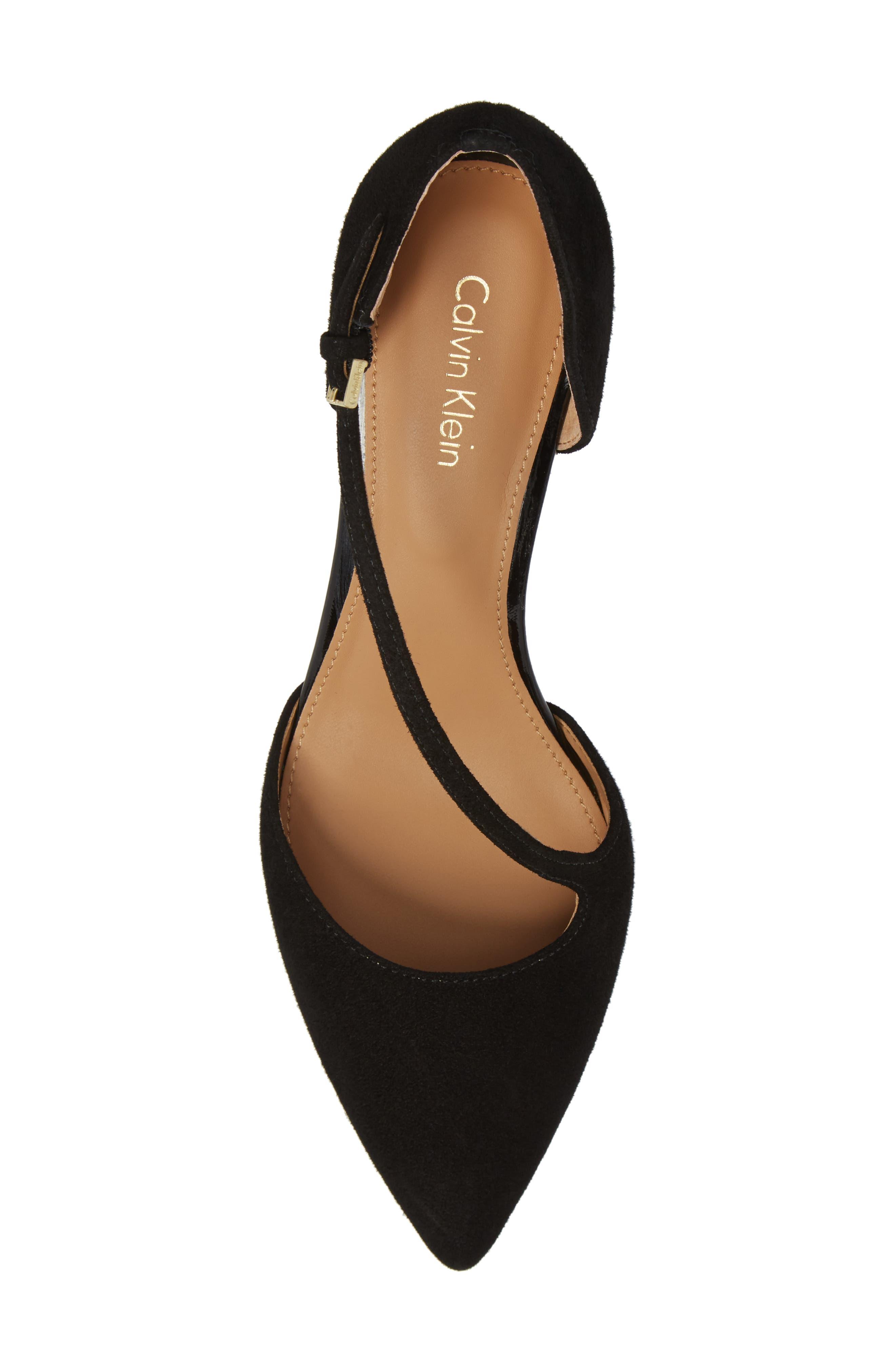 Alternate Image 5  - Calvin Klein Page Pointy Toe Pump (Women)