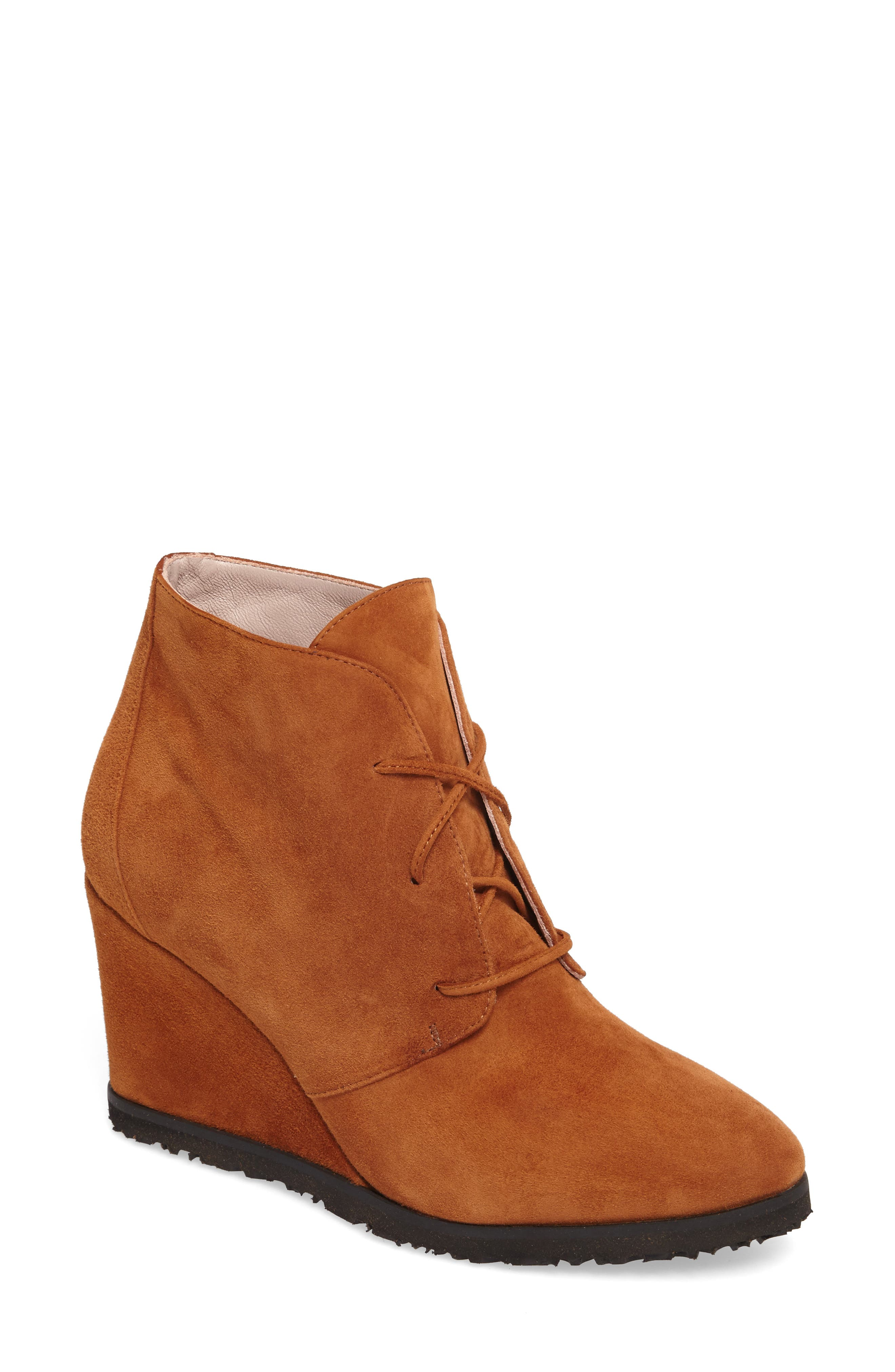 Main Image - Taryn Rose Marta Wedge Bootie (Women)