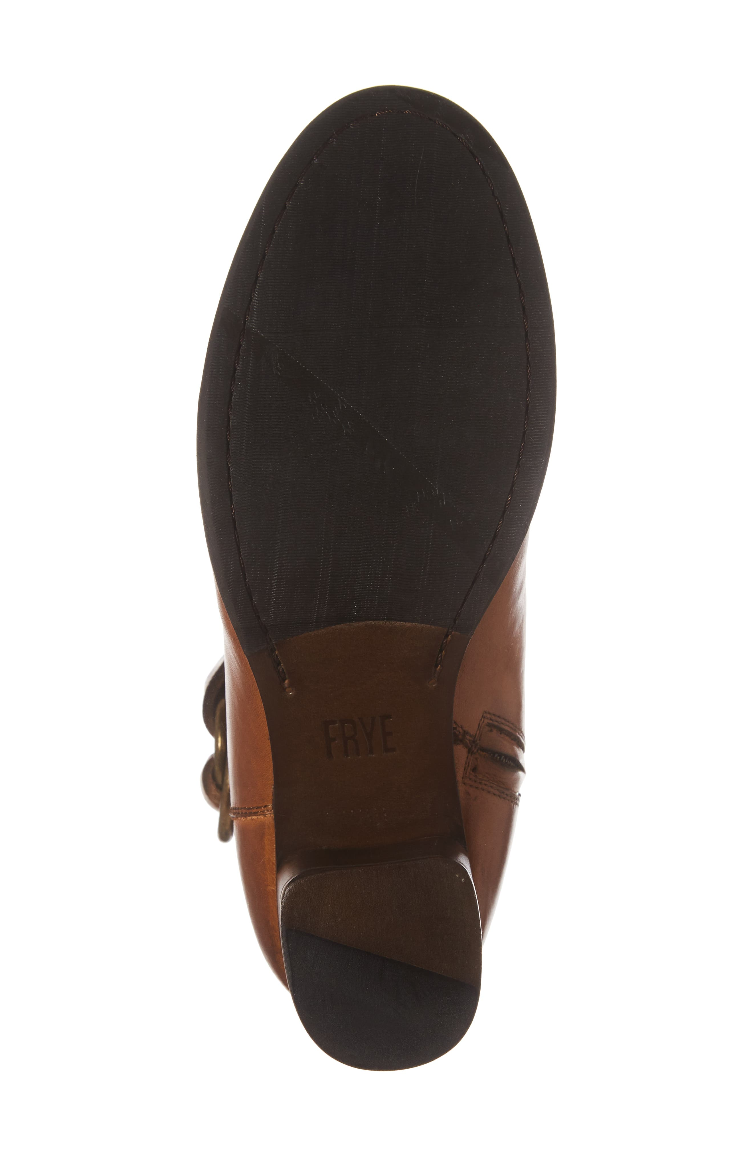 Addie Harness Boot,                             Alternate thumbnail 6, color,                             Brown