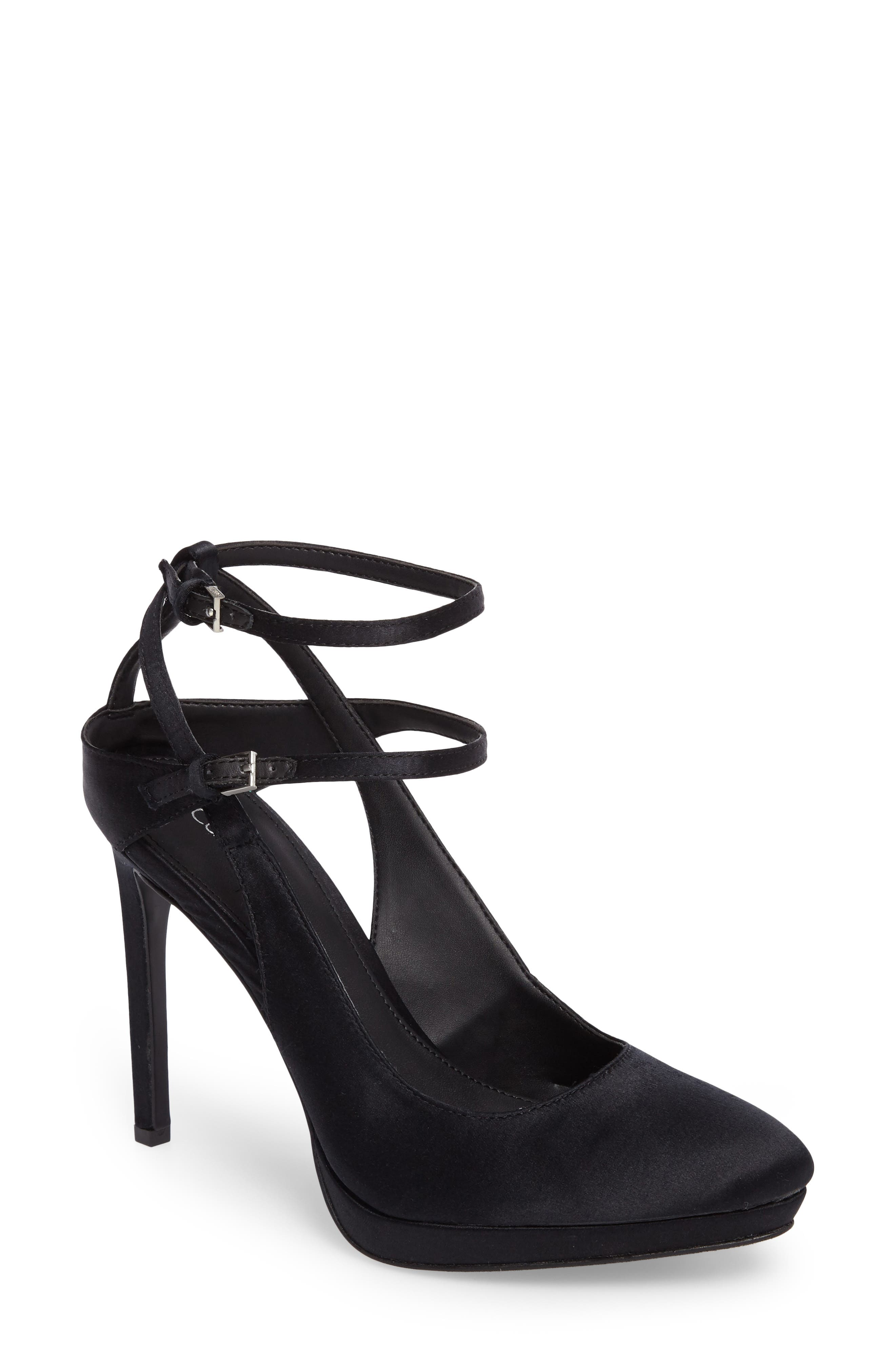 Alternate Image 1 Selected - Calvin Klein Shawna Strappy Pump (Women)