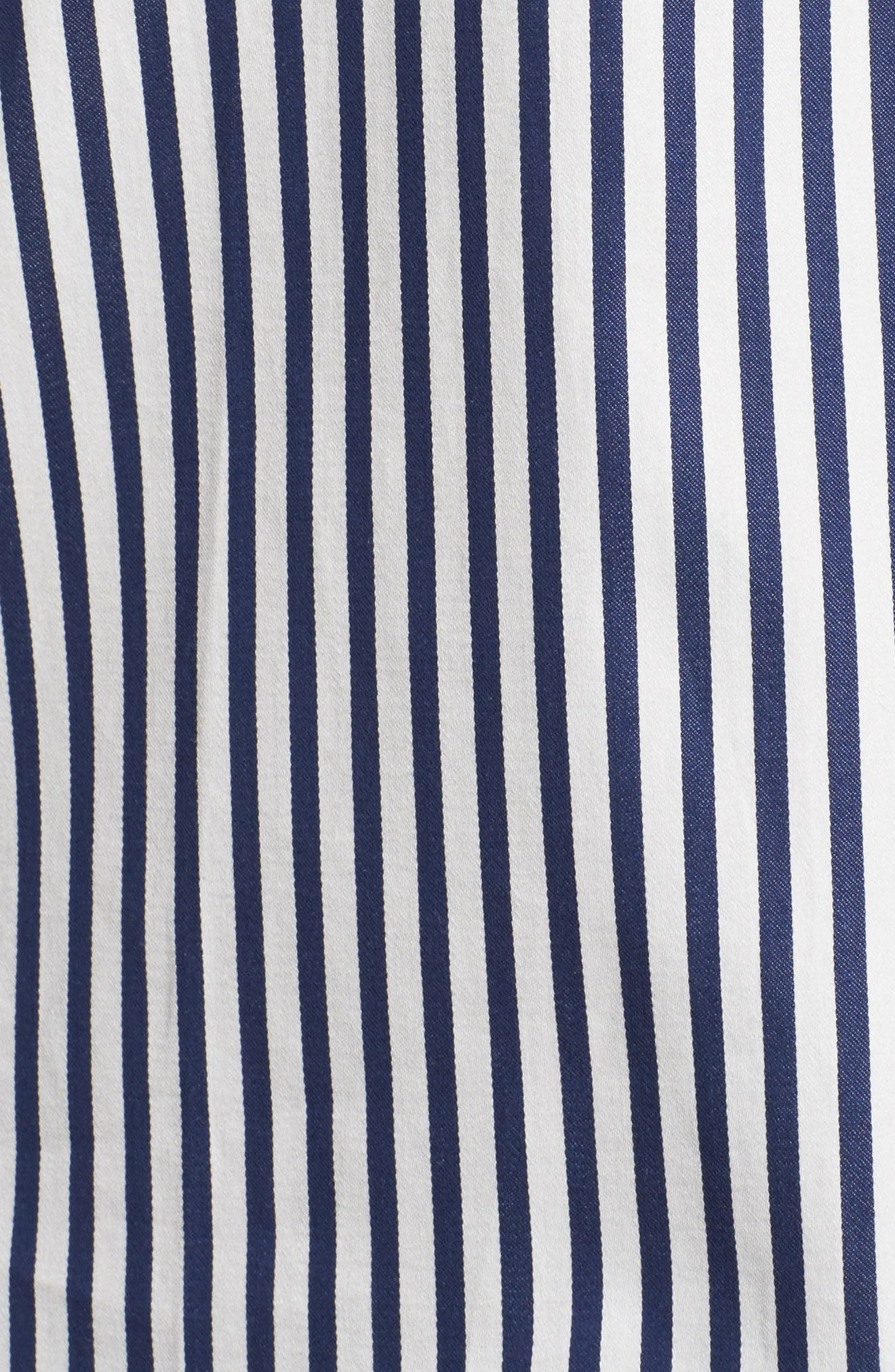 Alternate Image 5  - kate spade new york stripe pajamas