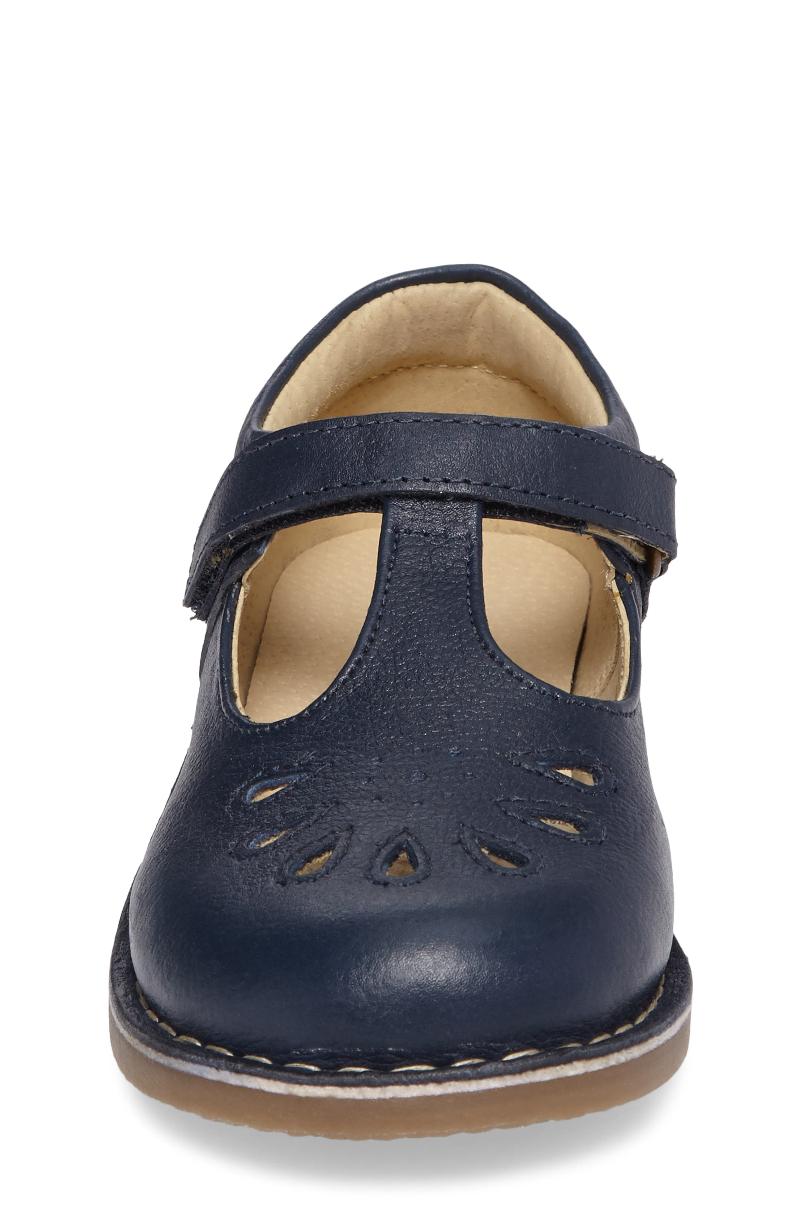 Alternate Image 4  - Mini Boden Perforated T-Strap Mary Jane (Toddler, Little Kid & Big Kid)