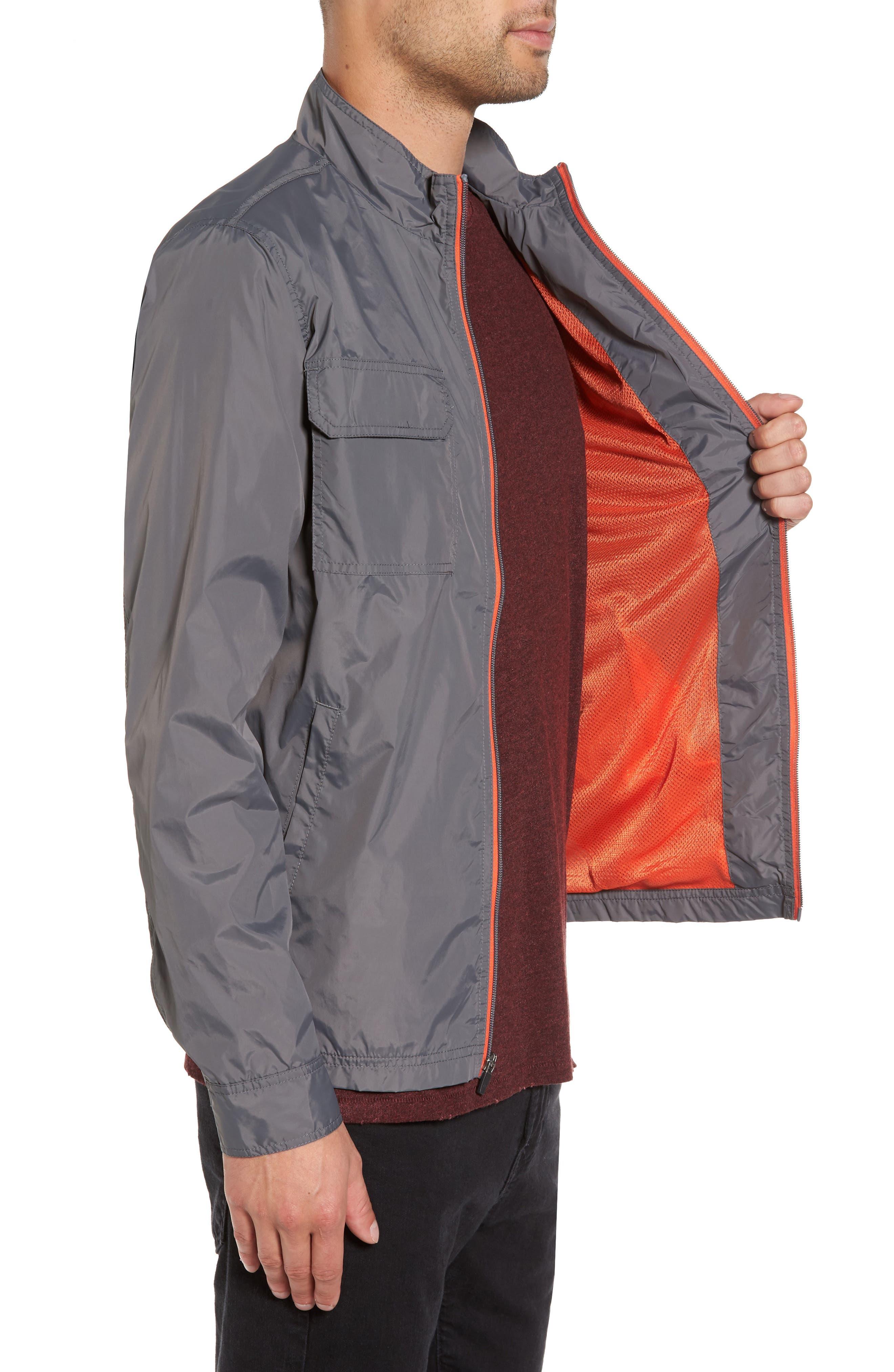 Staple Jacket,                             Alternate thumbnail 3, color,                             Grey