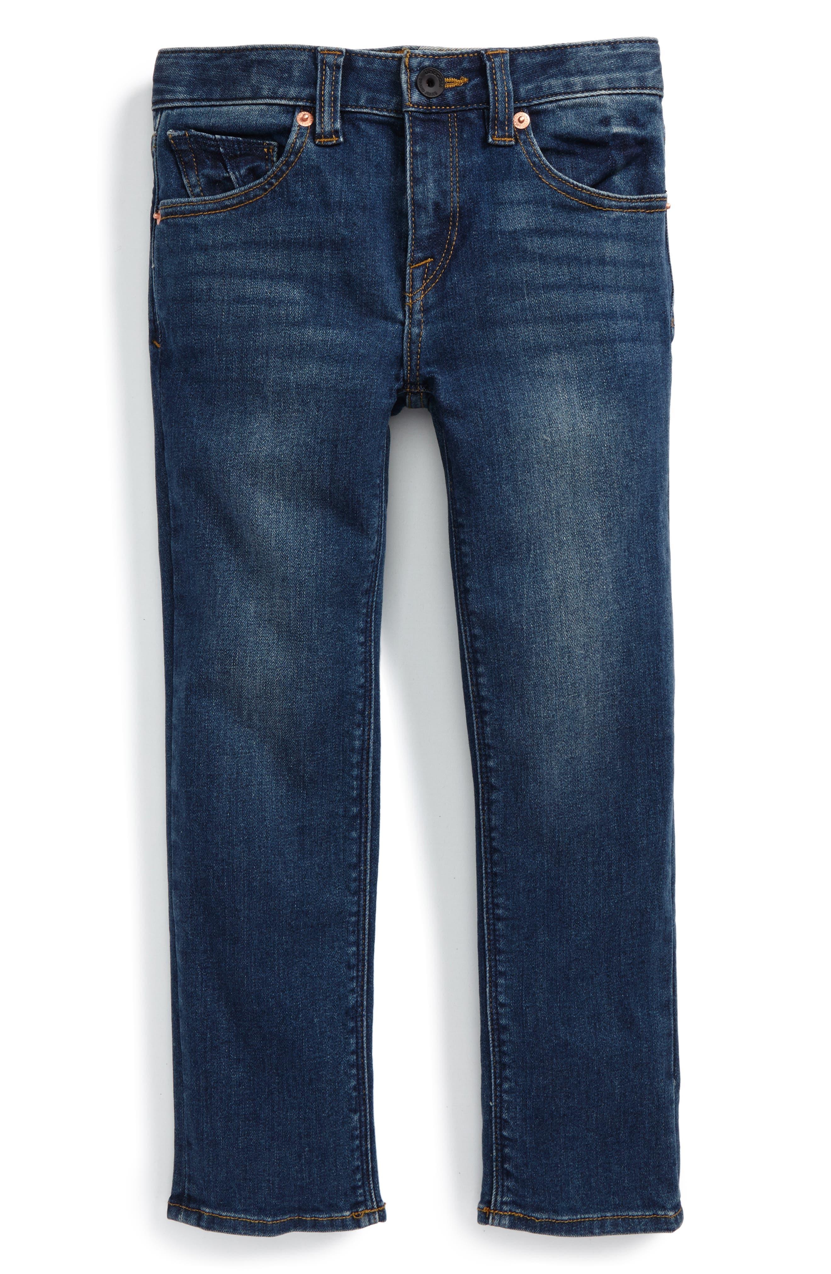 Alternate Image 1 Selected - Volcom 'Vorta' Slim Fit Jeans (Toddler Boys & Little Boys)