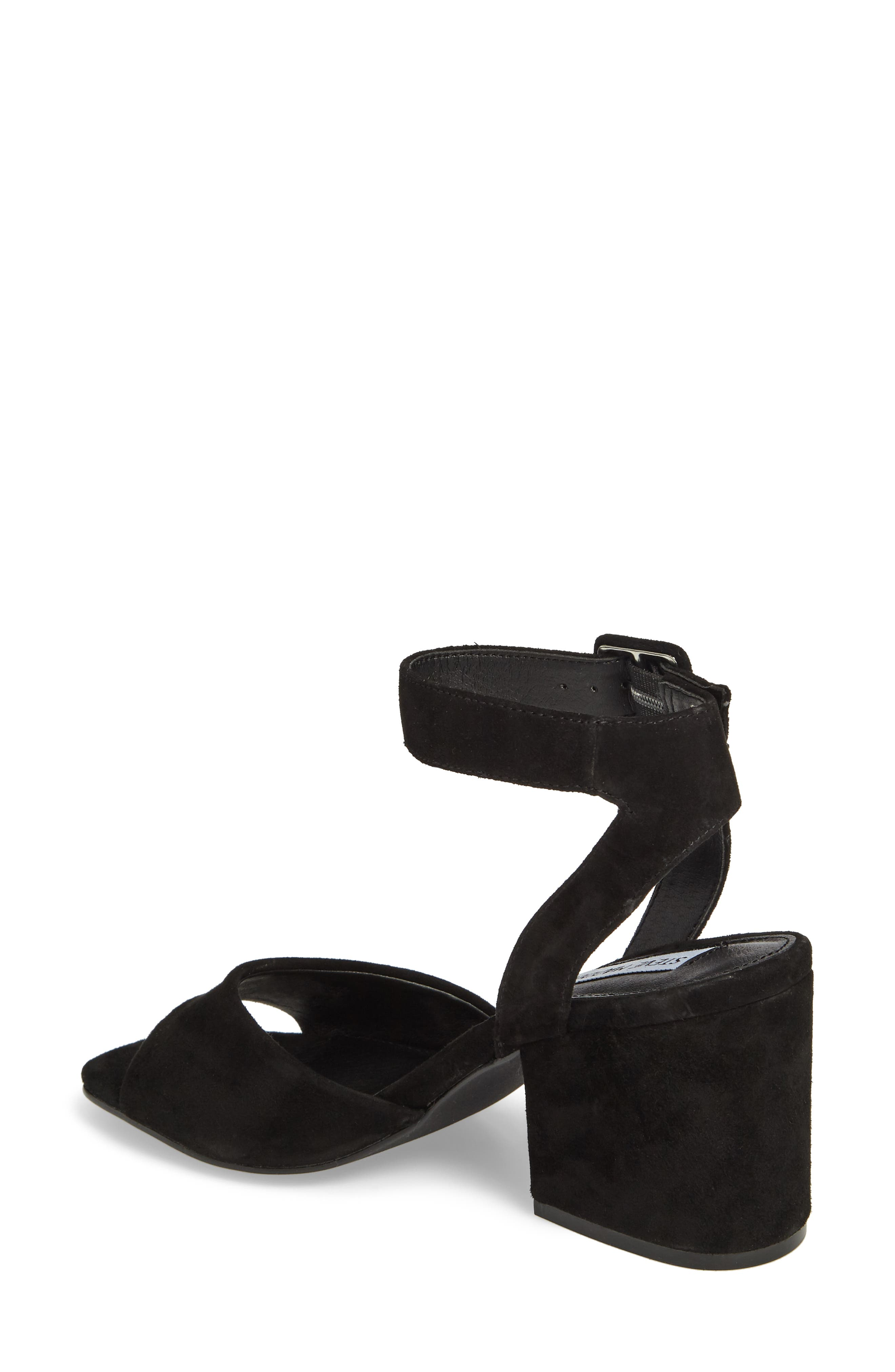 Debbie Sandal,                             Alternate thumbnail 2, color,                             Black Suede
