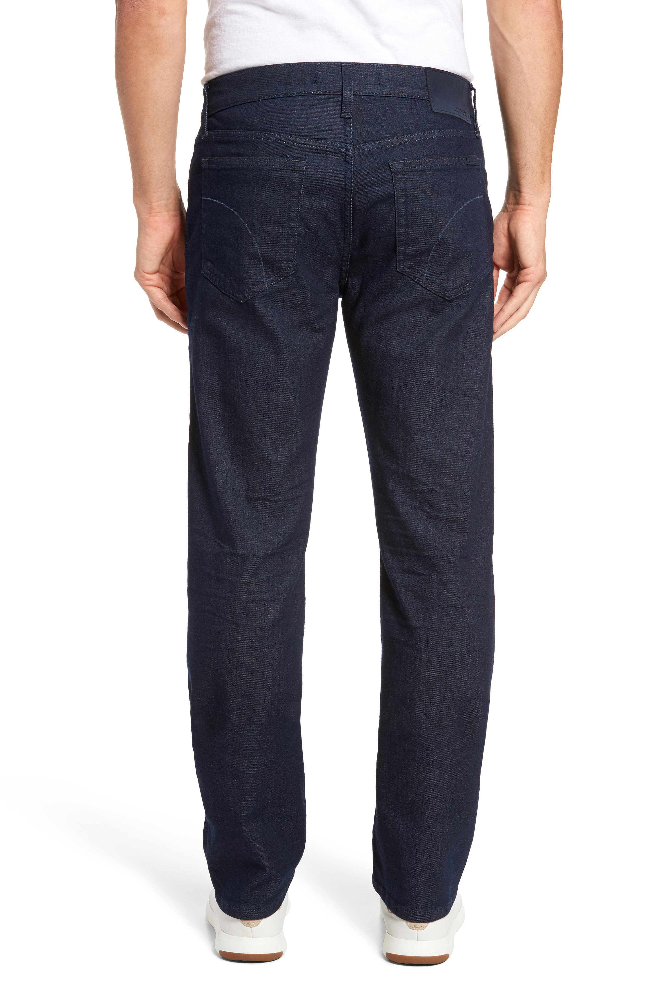 Classic Straight Fit Jeans,                             Alternate thumbnail 2, color,                             Towe