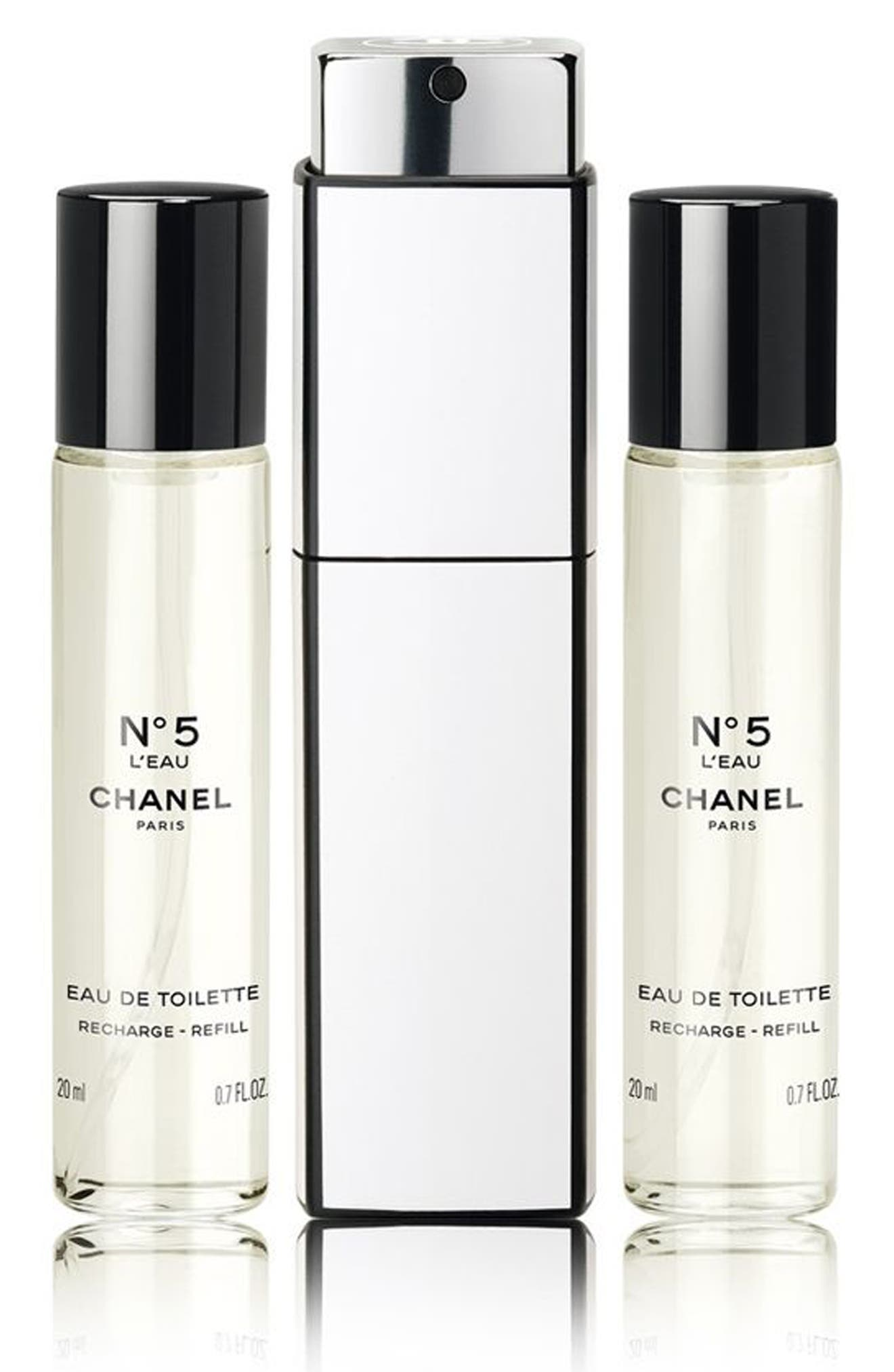 CHANEL N°5 L'EAU Eau de Toilette Twist and Spray Set