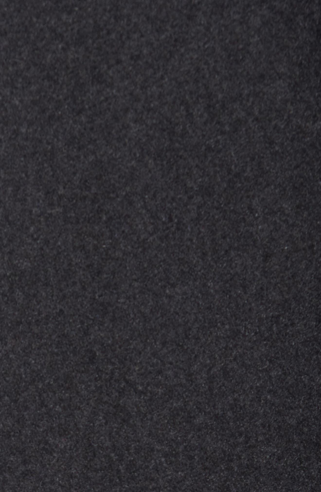 Alternate Image 4  - Cole Haan Melton Wool Blend Coat