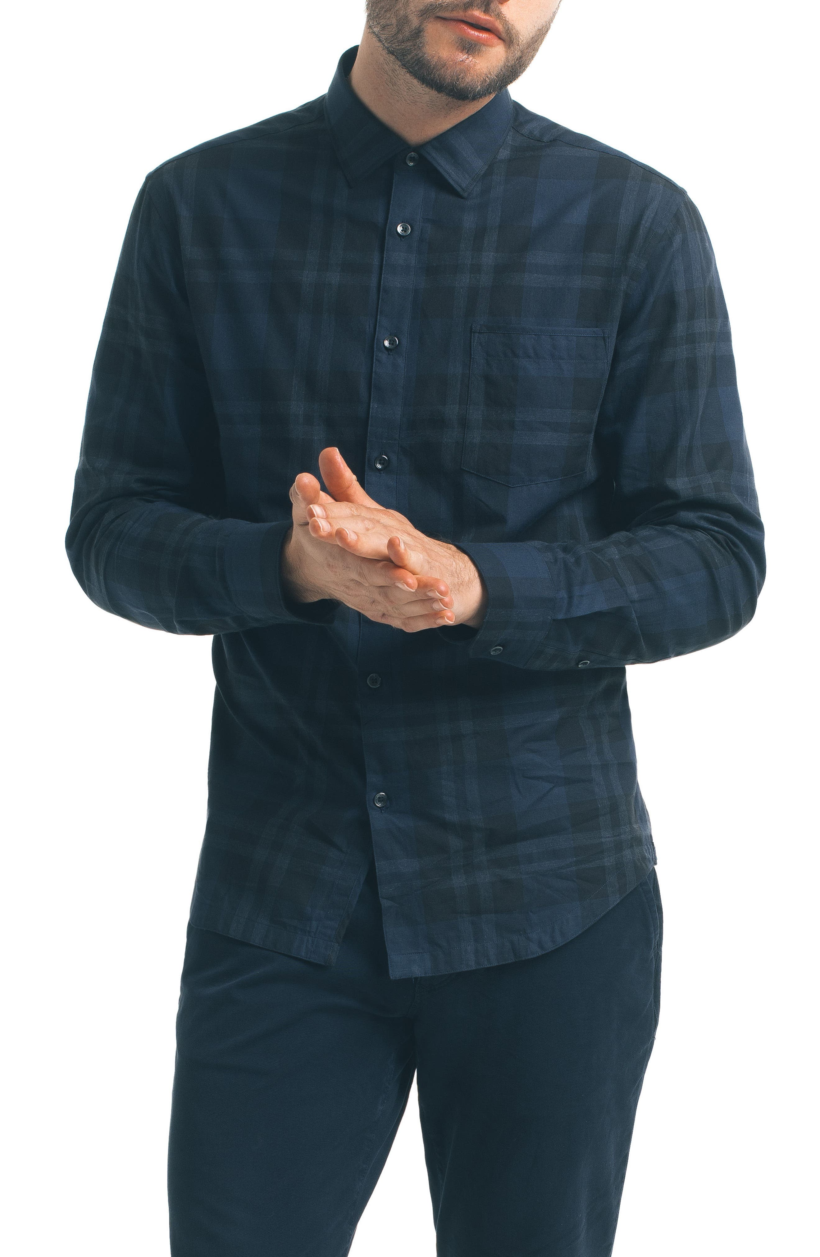 Alternate Image 1 Selected - Good Man Brand Check Sport Shirt