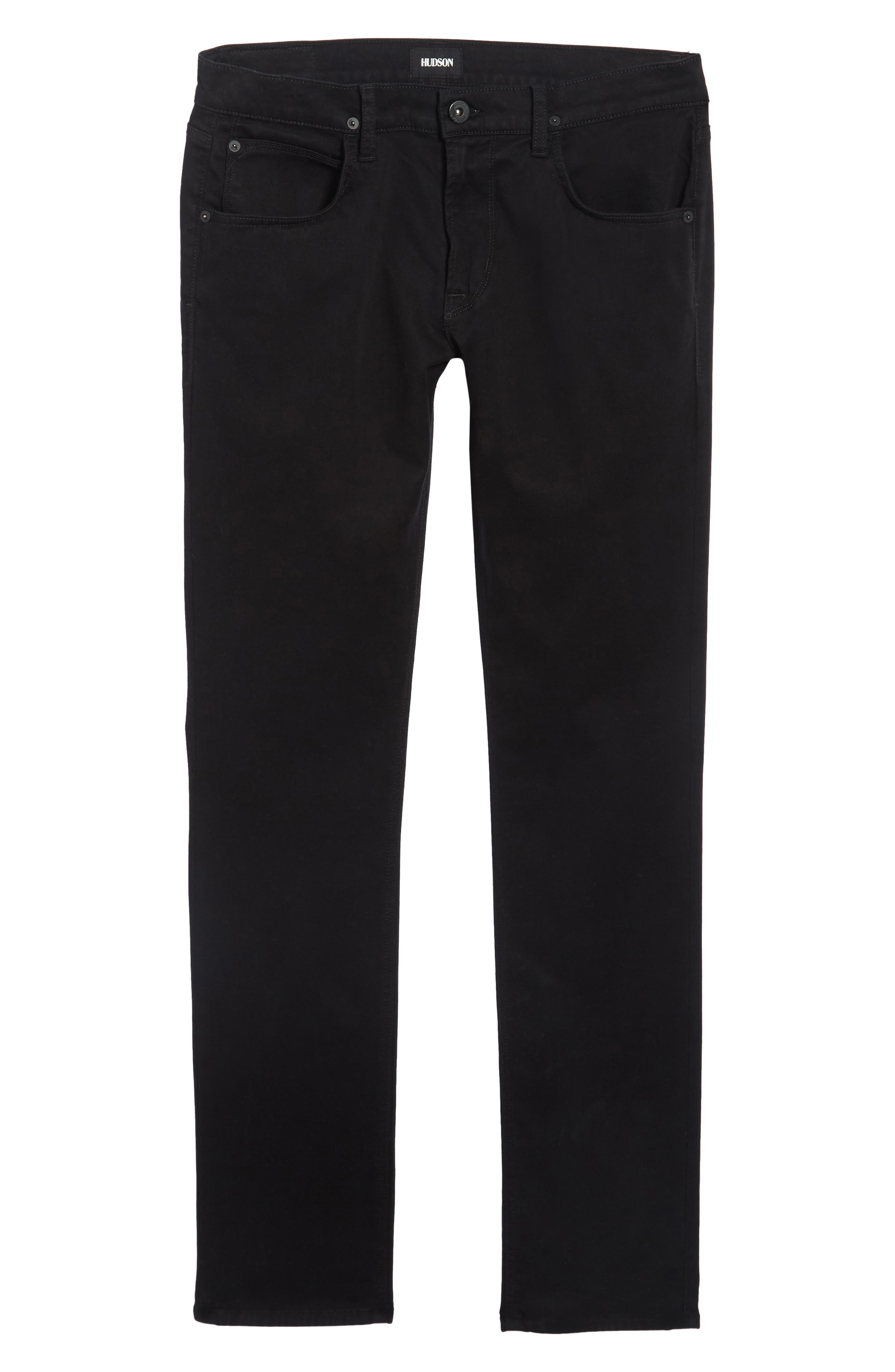 Alternate Image 7  - Hudson Jeans Blake Slim Fit Jeans (Blackened)