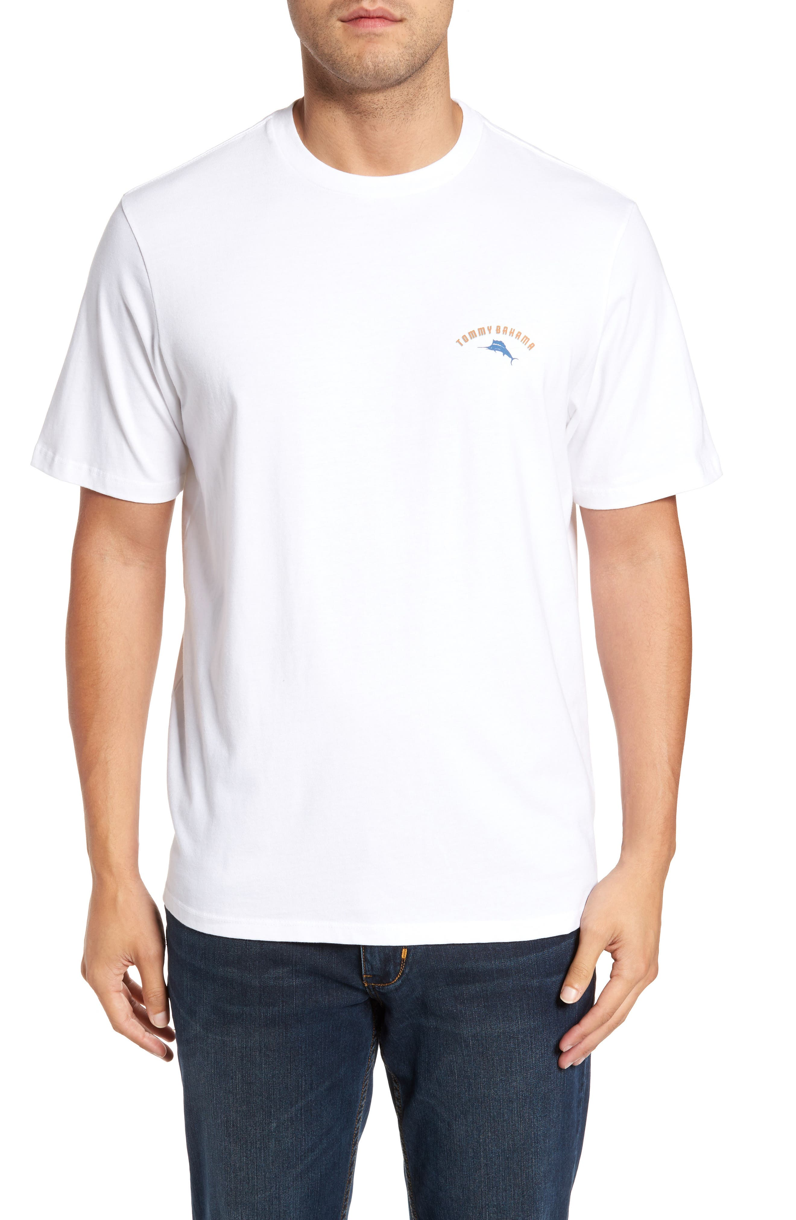 Alternate Image 2  - Tommy Bahama Three Cans Graphic T-Shirt