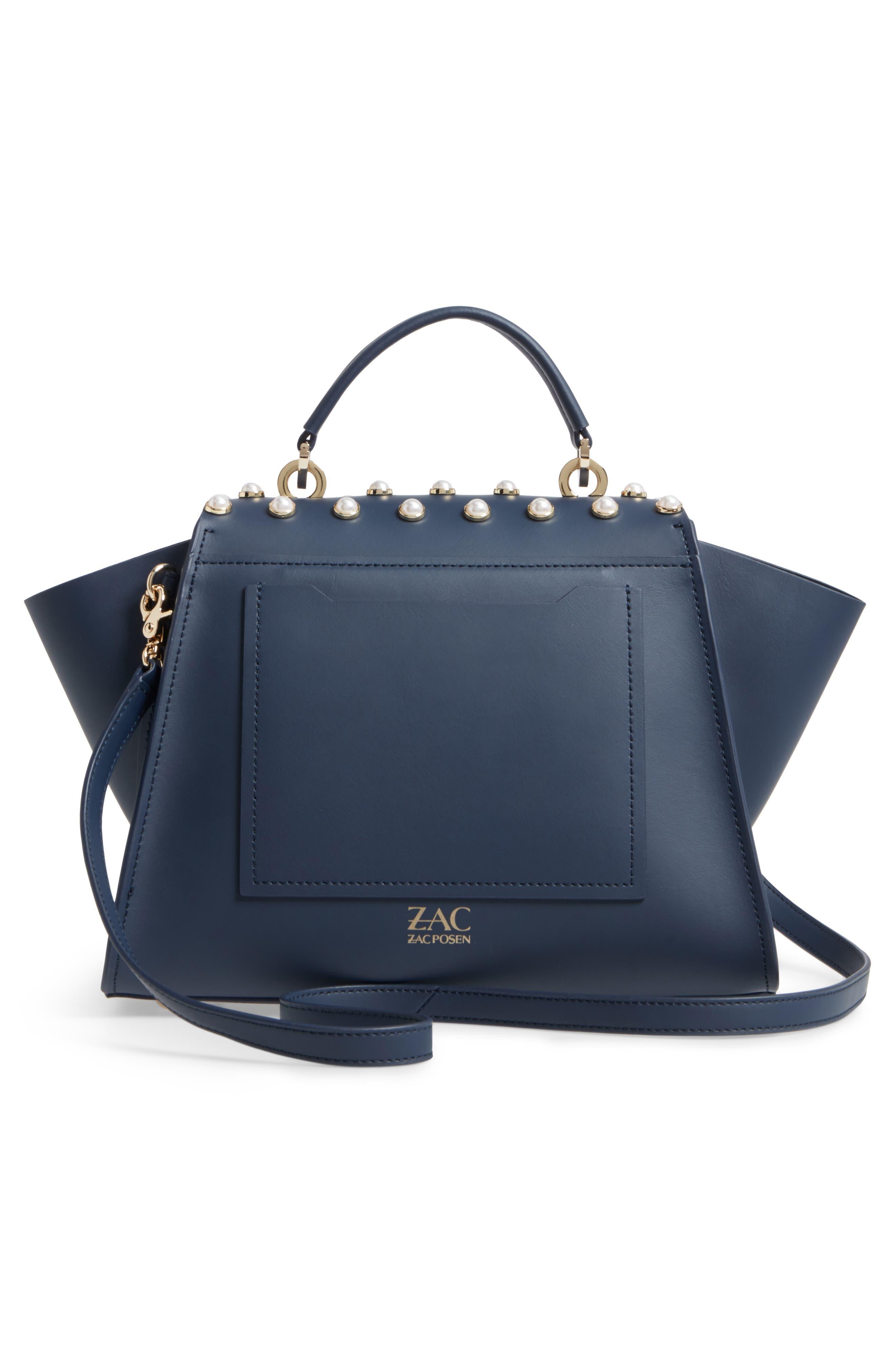 Alternate Image 2  - ZAC Zac Posen Eartha Iconic Leather Top Handle Satchel