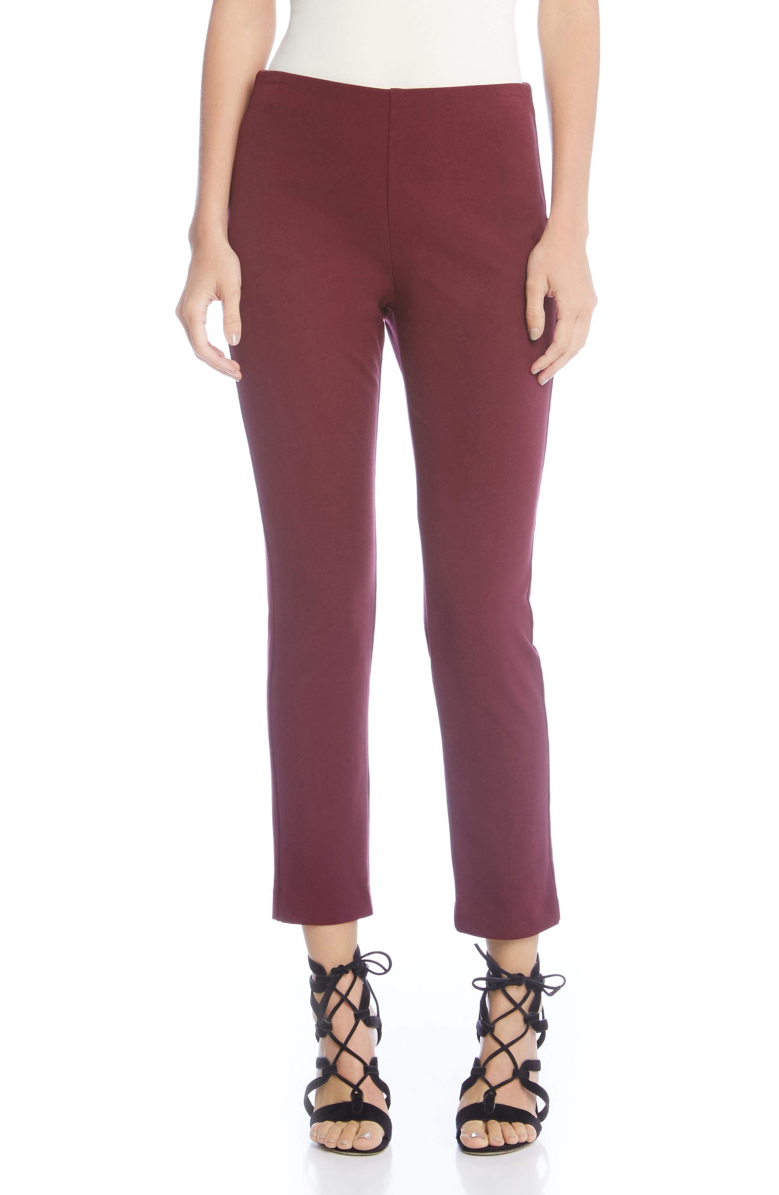 Piper Pants,                         Main,                         color, Wine