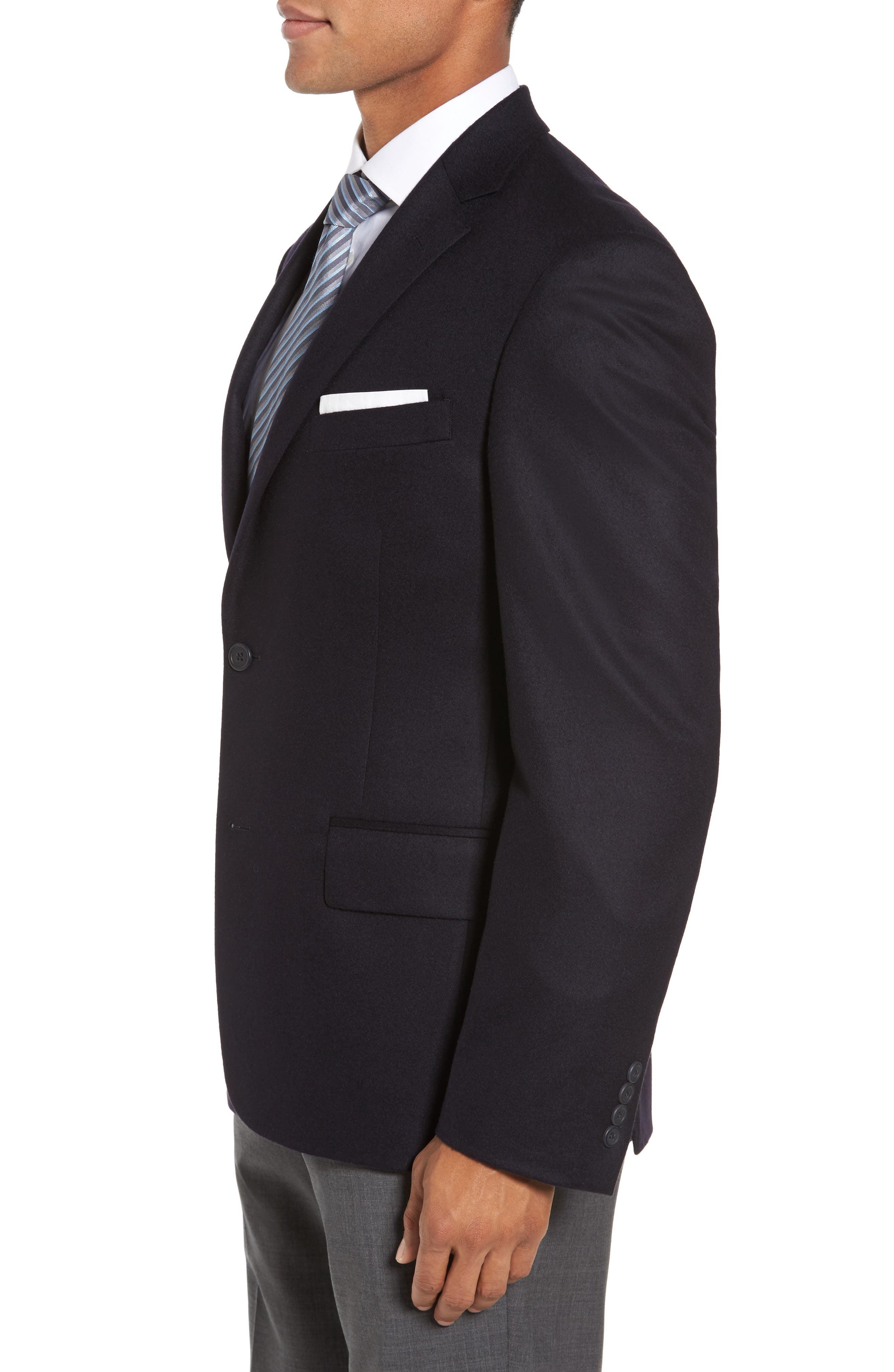Alternate Image 3  - Nordstrom Men's Shop Classic Fit Cashmere Blazer