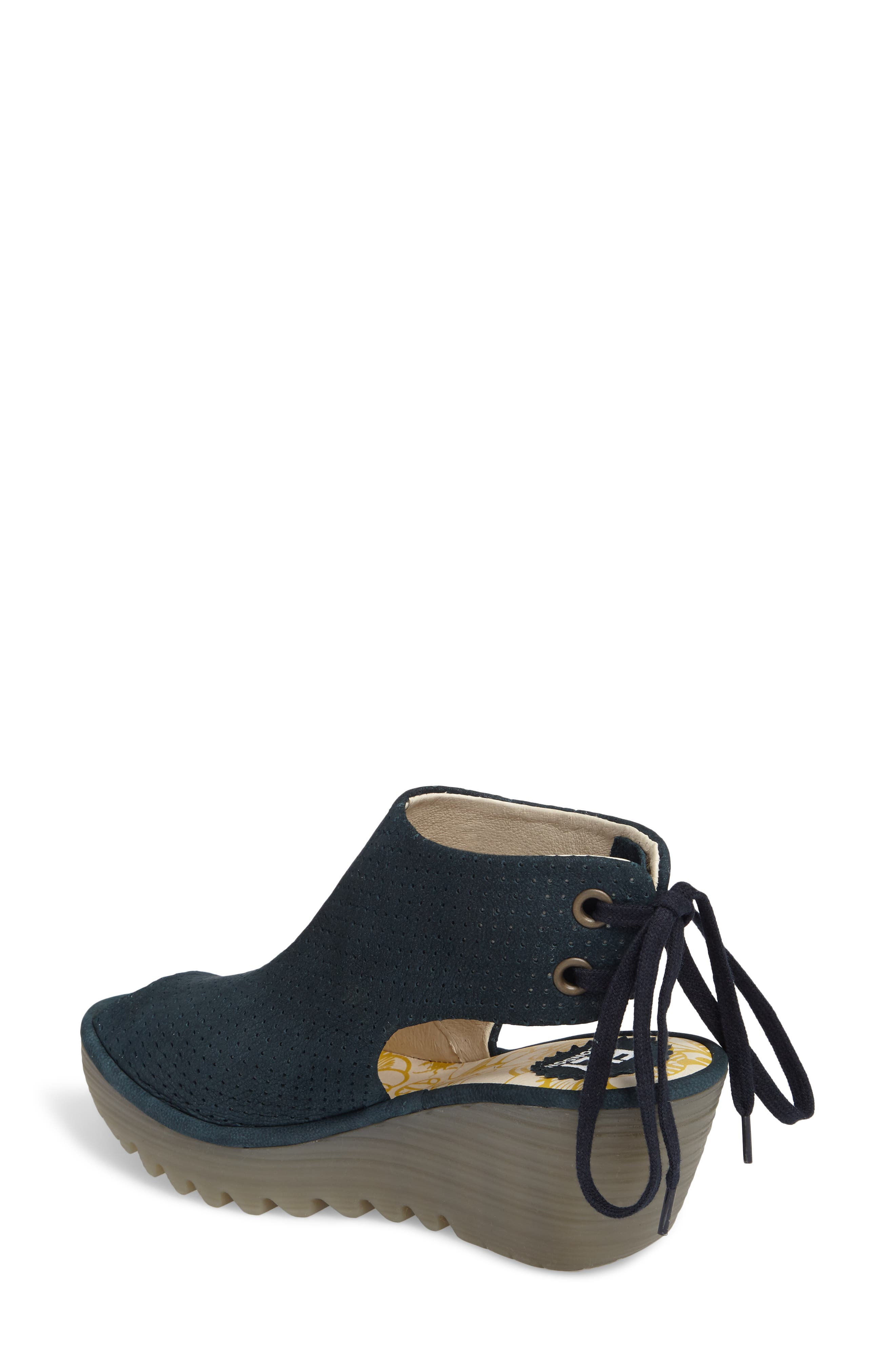 Ypul Wedge Sandal,                             Alternate thumbnail 2, color,                             Reef Cupido Leather