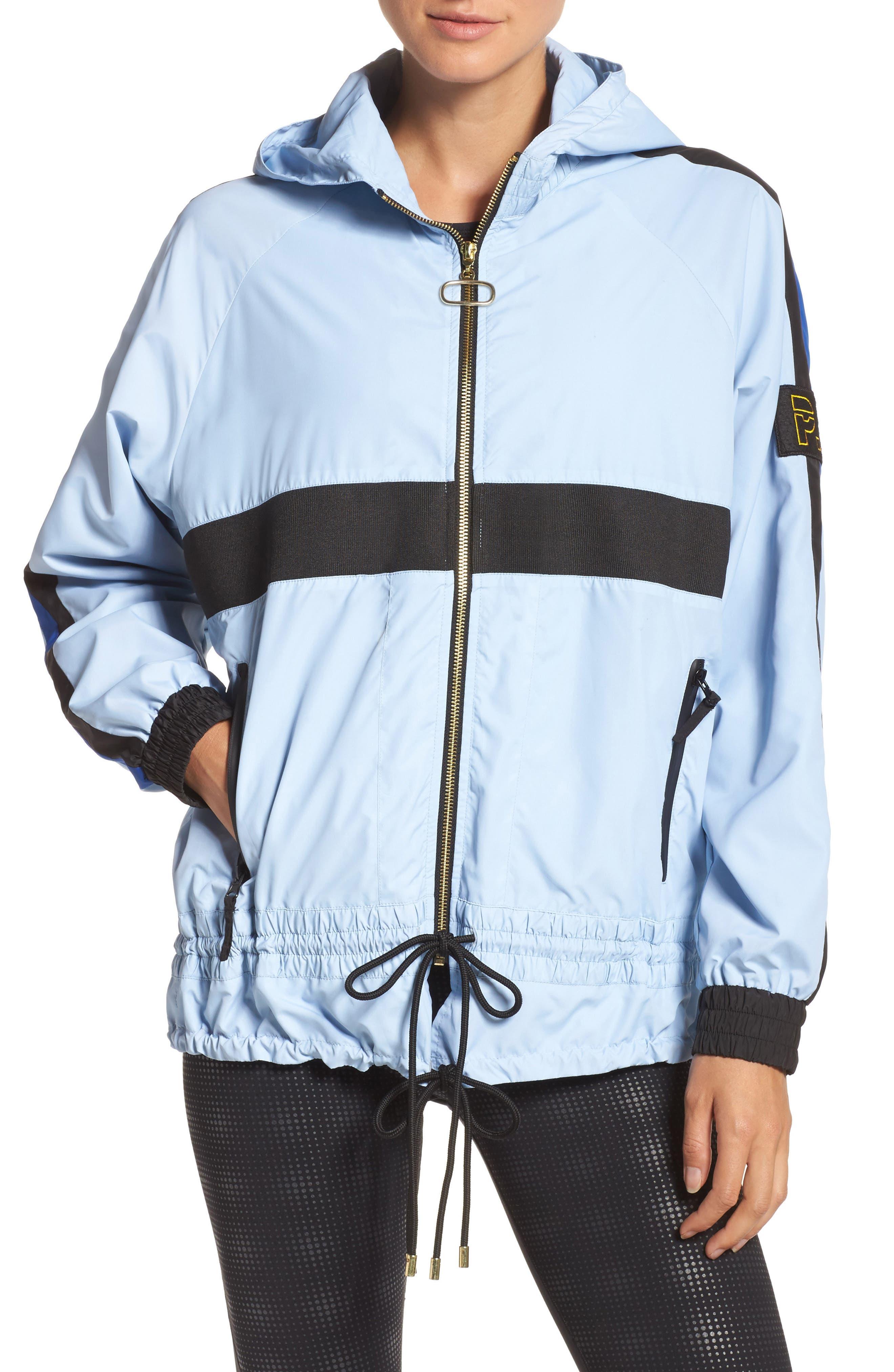 Man Down Jacket,                         Main,                         color, Pale Blue