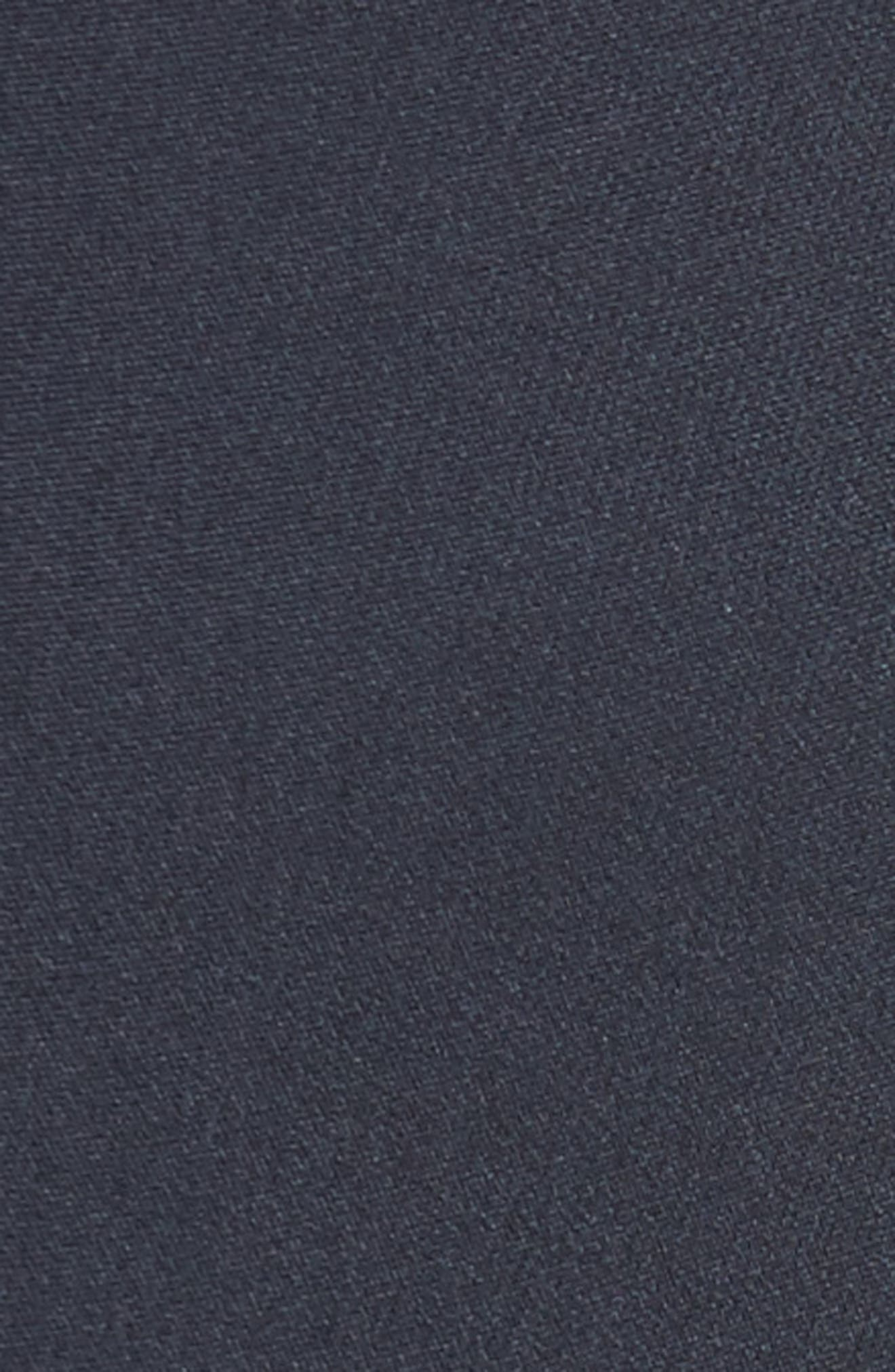 Stretch Crepe Cigarette Pants,                             Alternate thumbnail 5, color,                             Navy
