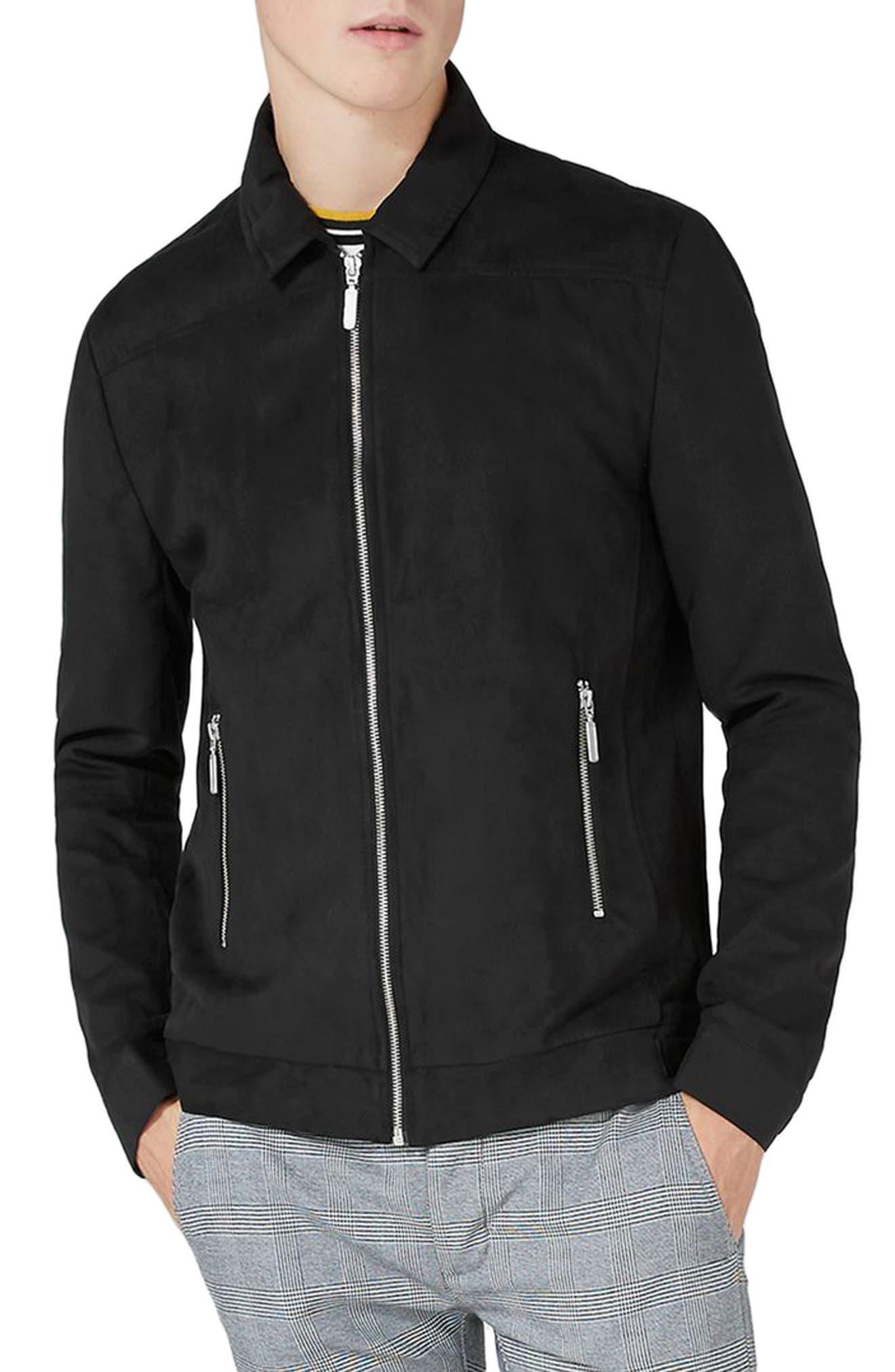 Alternate Image 1 Selected - Topman Harrington Jacket