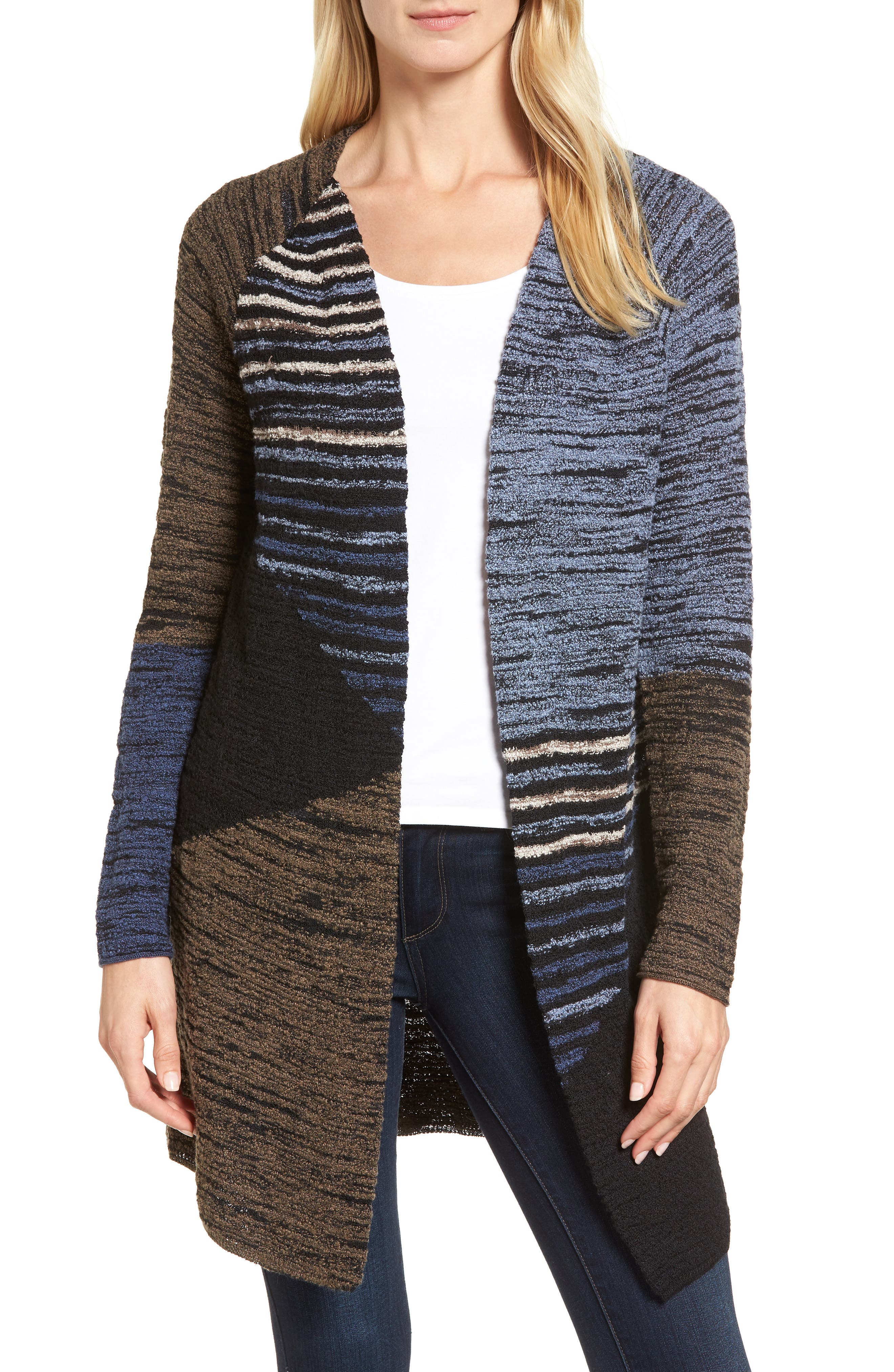 Alternate Image 1 Selected - NIC+ZOE Layover Cardigan (Regular & Petite)