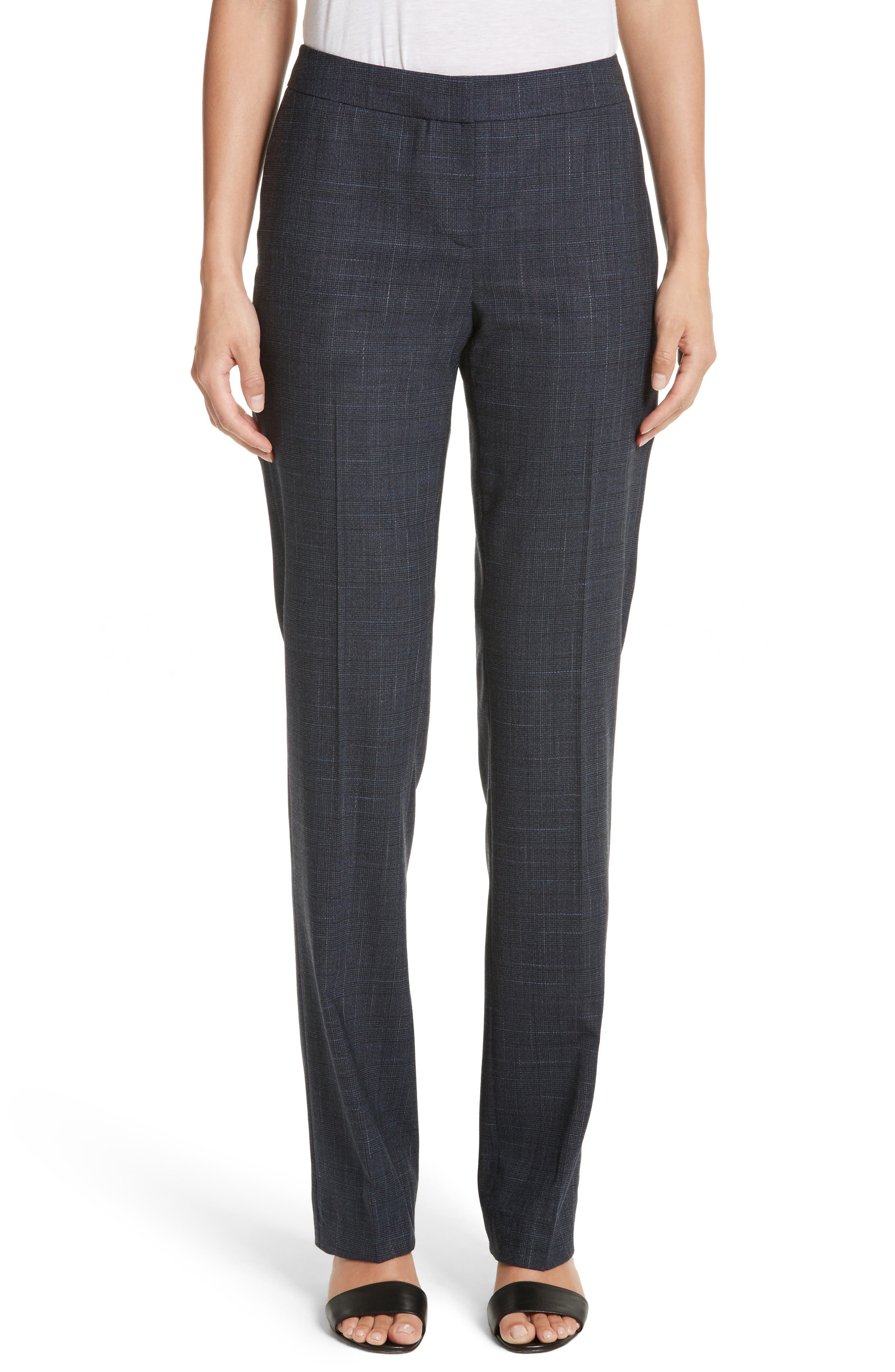 Barrow Stretch Wool Pants,                         Main,                         color, Ink Multi