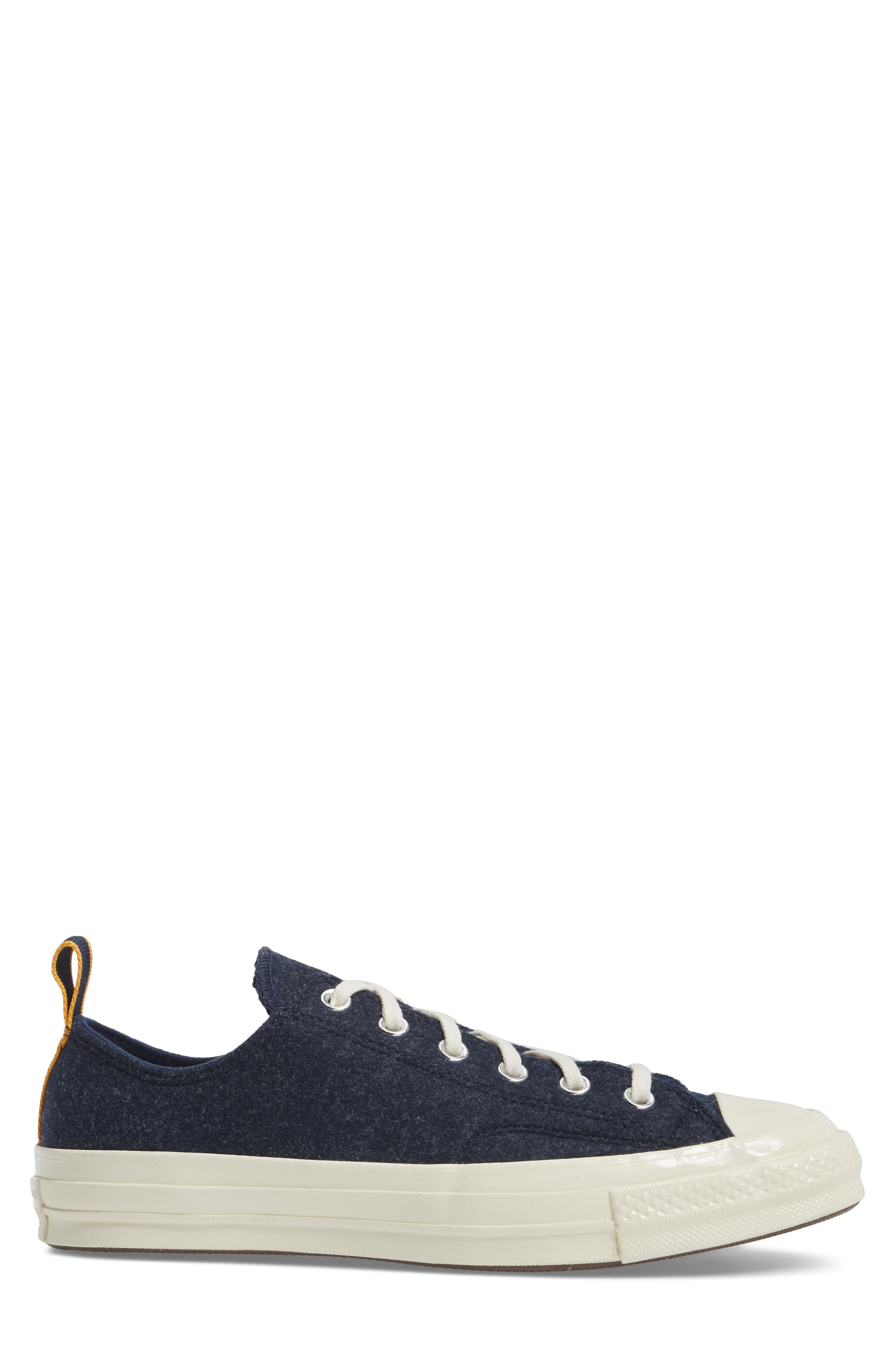 Chuck Taylor<sup>®</sup> 70 Heritage Sneaker,                             Alternate thumbnail 3, color,                             Midnight