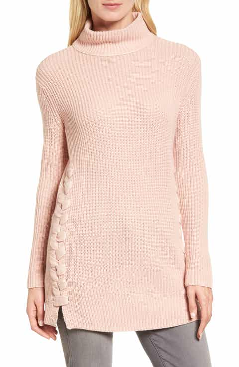 Women's Pink Tunic Sweaters | Nordstrom