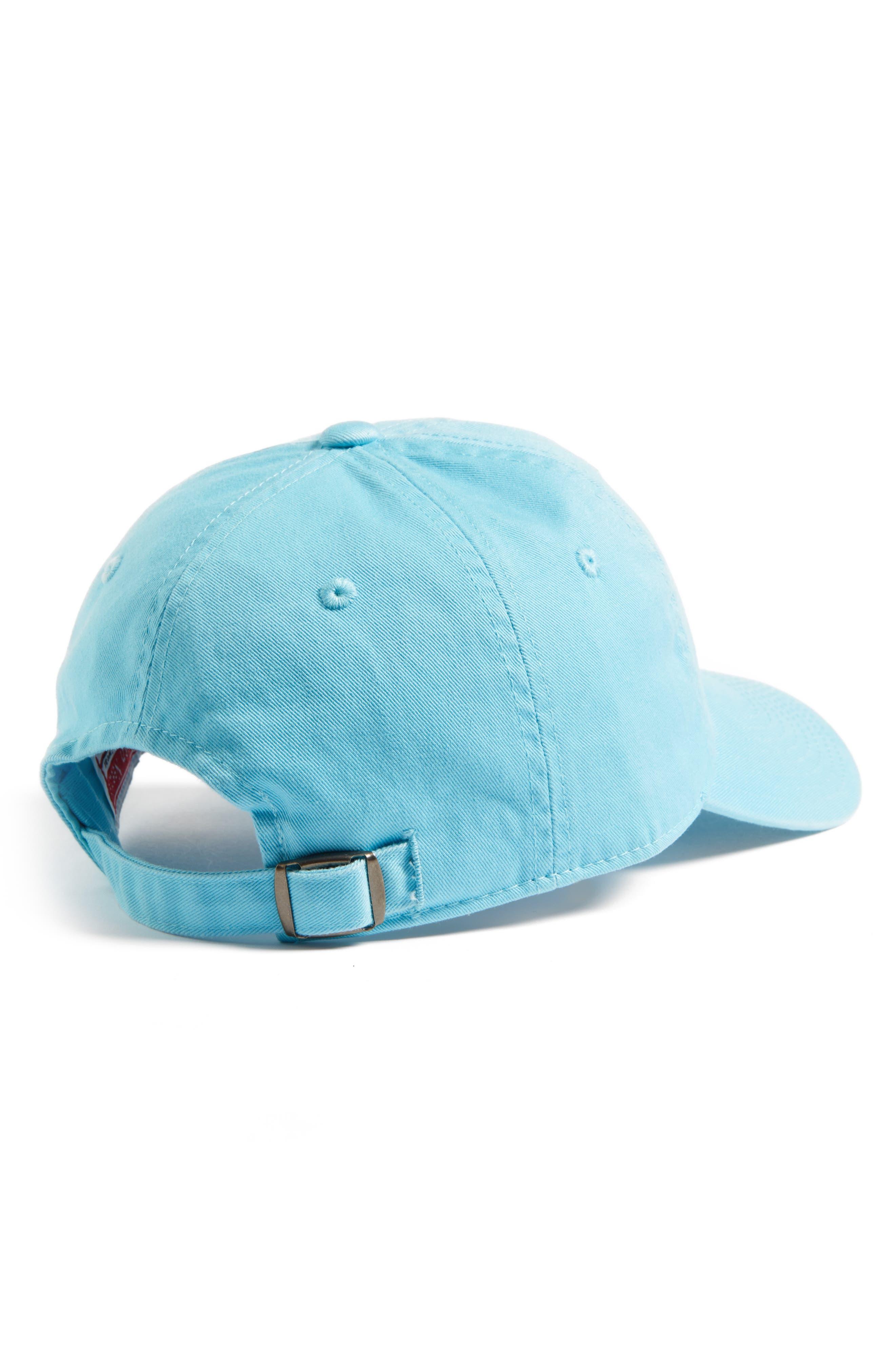 Washed Cotton Baseball Cap,                             Alternate thumbnail 2, color,                             Tropiques