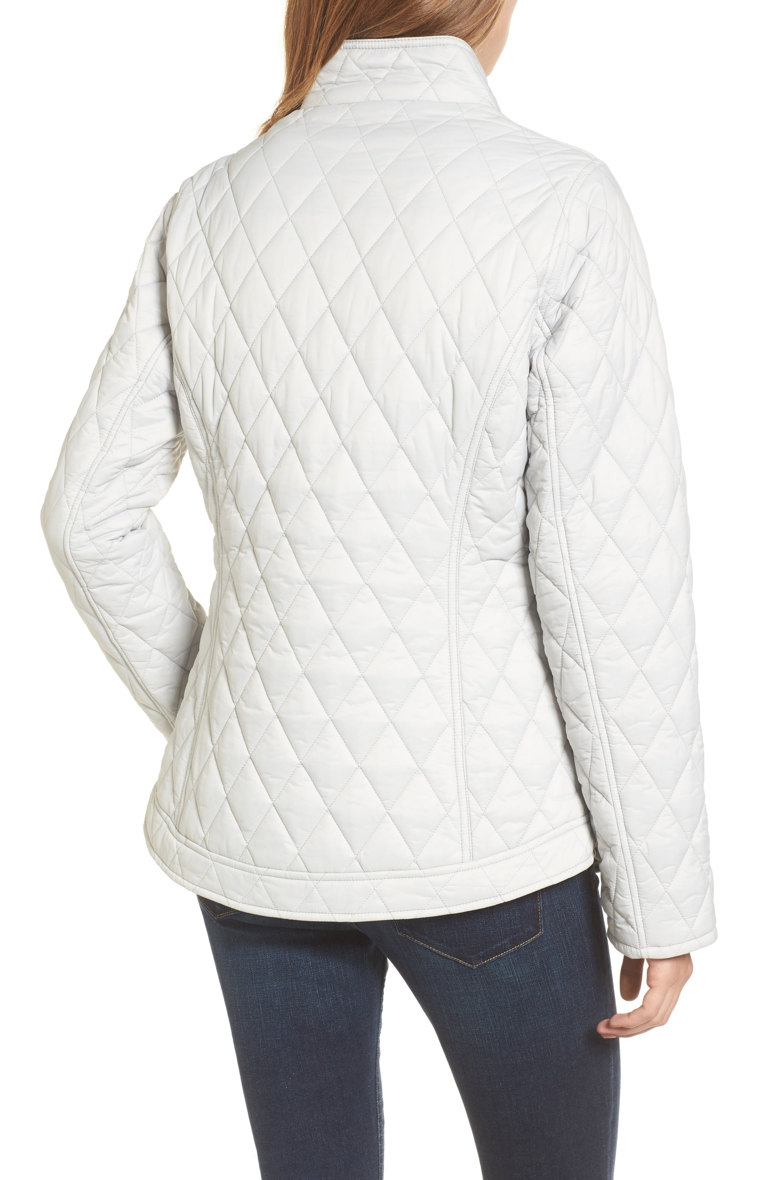 Dolostone Quilted Jacket,                             Alternate thumbnail 2, color,                             Ice White