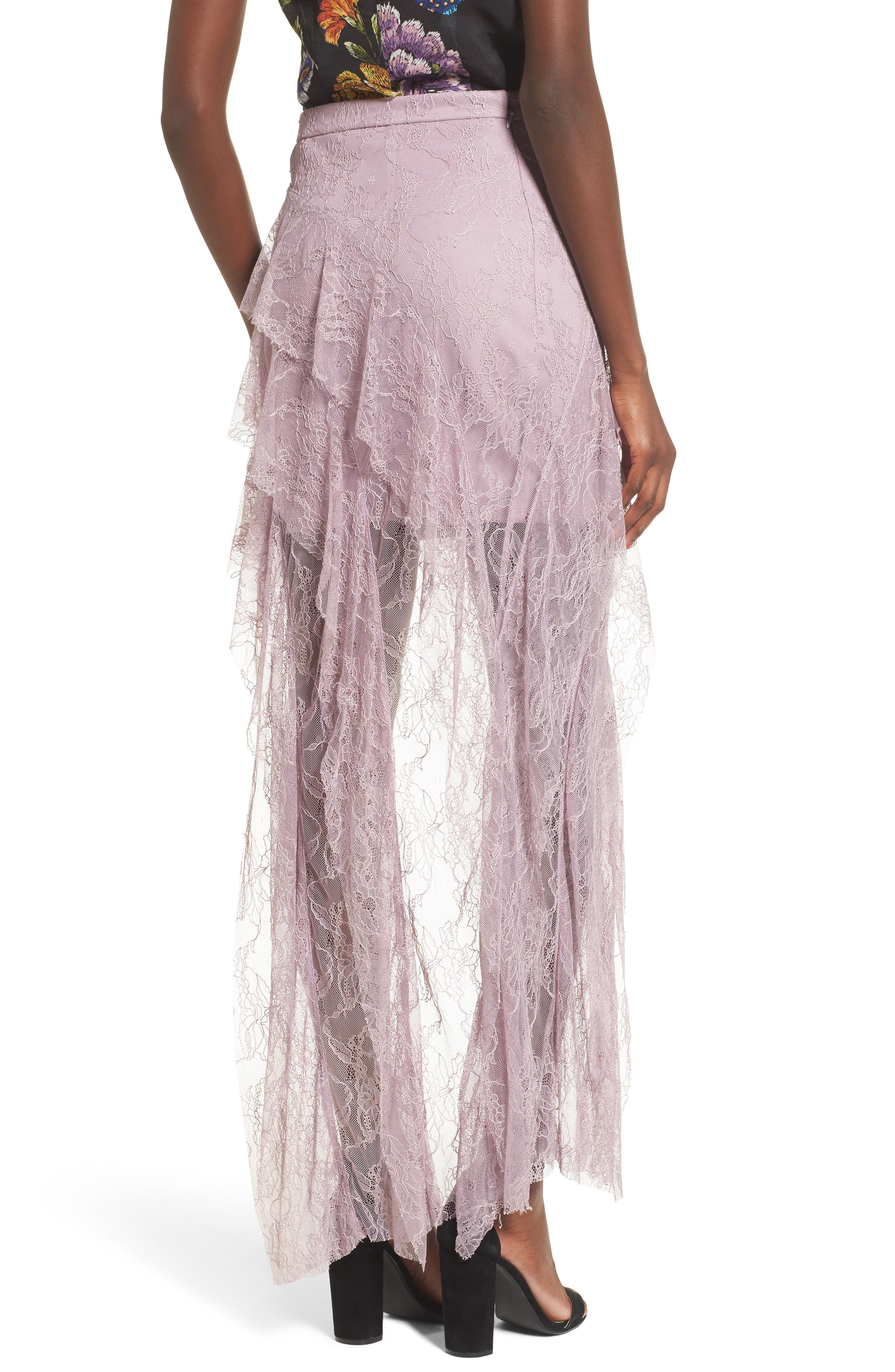 Alternate Image 2  - AFRM Emilia Ruffle Maxi Skirt