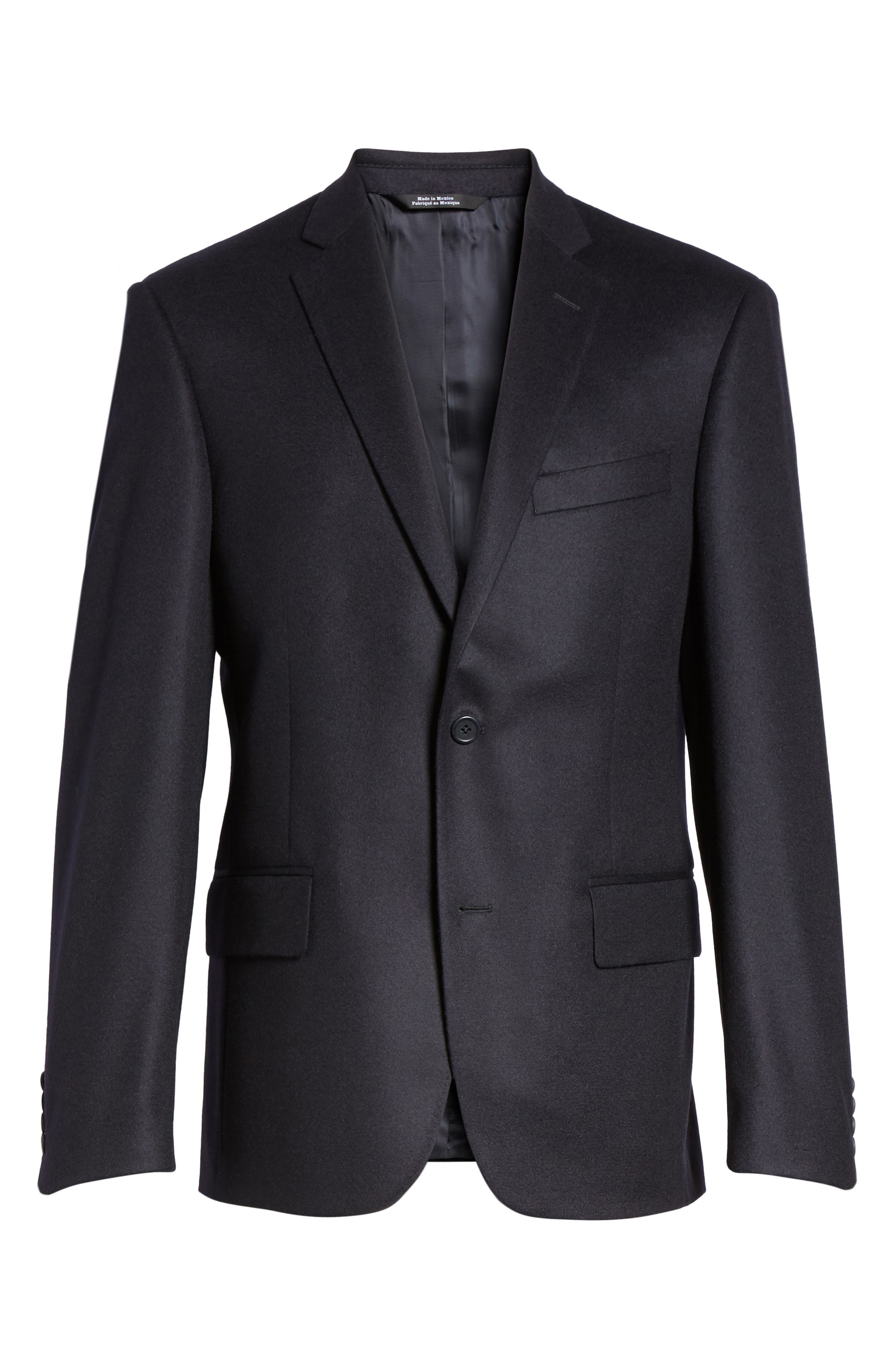 Alternate Image 6  - Nordstrom Men's Shop Classic Fit Cashmere Blazer