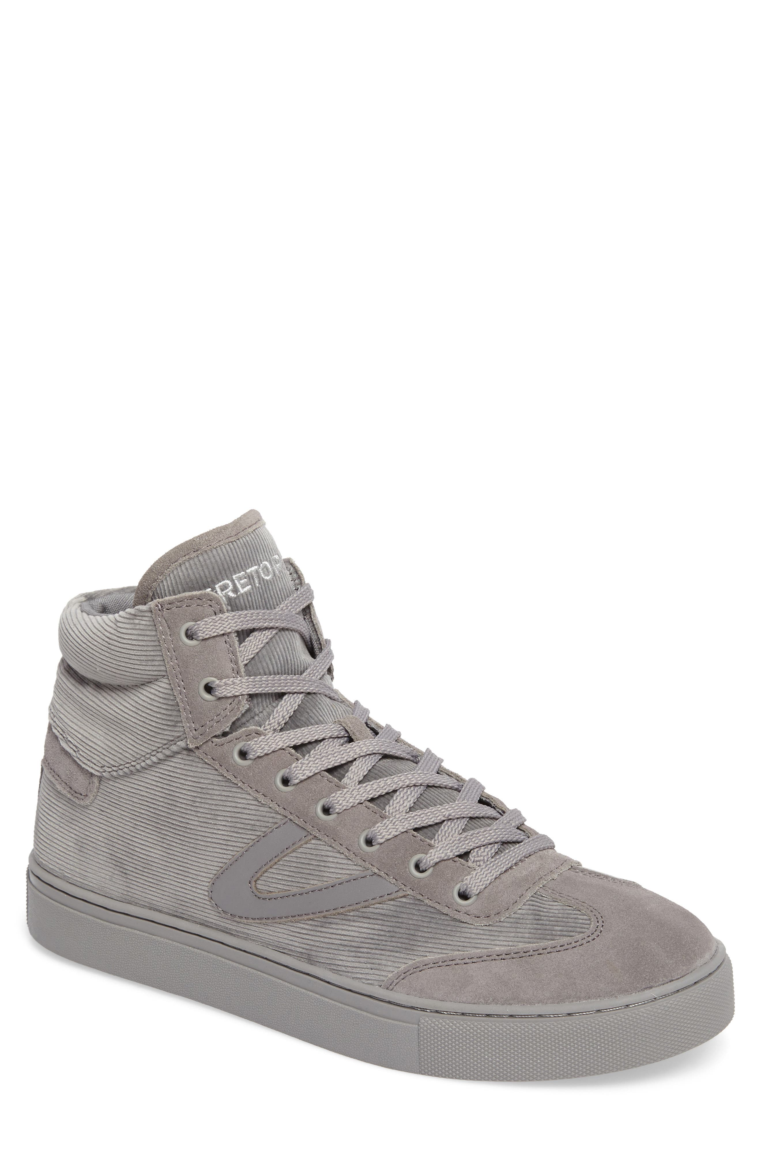 Jack High Top Sneaker,                         Main,                         color, Grey/ Grey