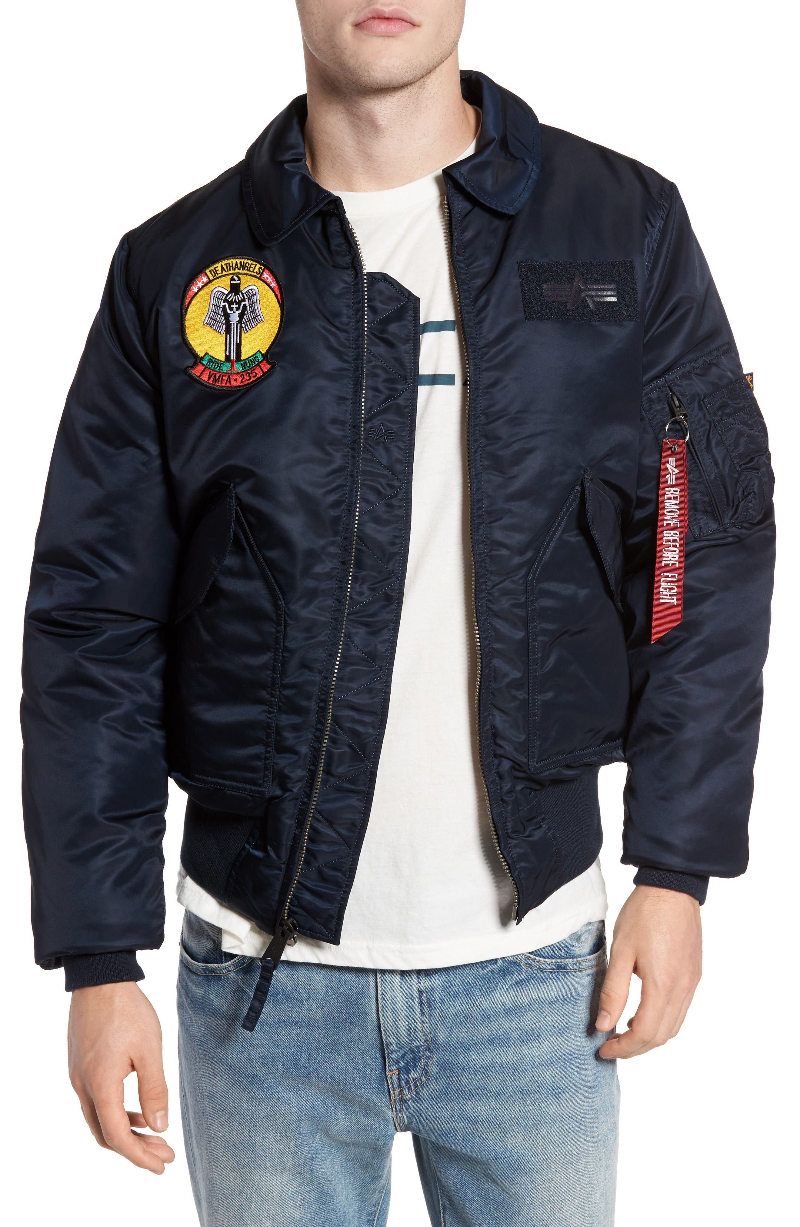 CWO 45/P Storm Cruise Jacket,                         Main,                         color, Replica Blue