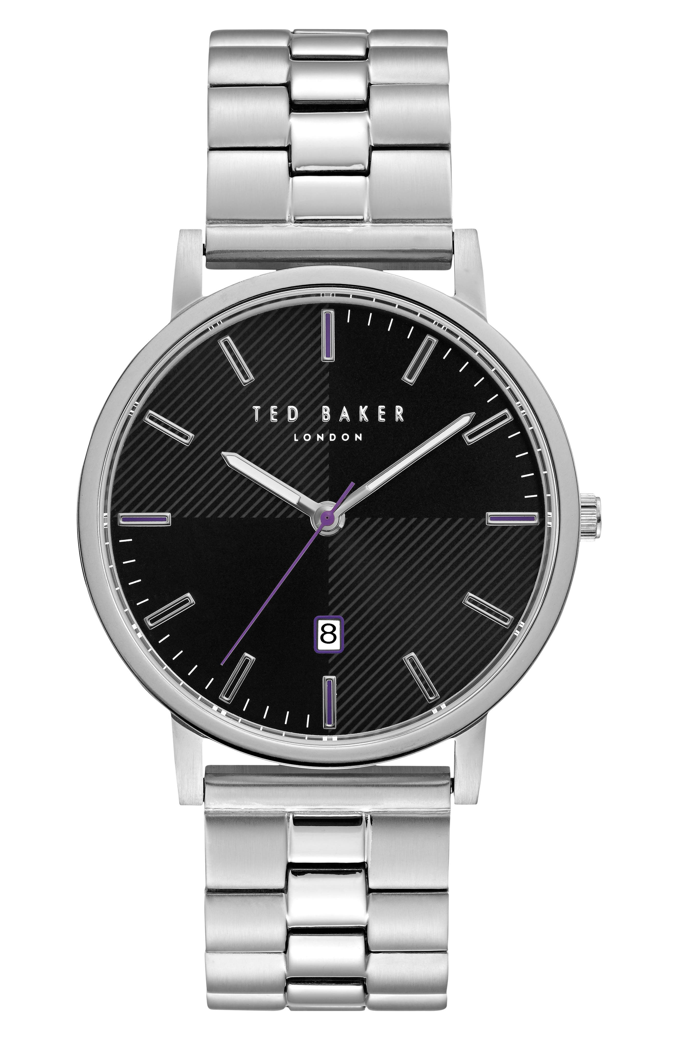 Alternate Image 1 Selected - Ted Baker London Dean Bracelet Watch, 40mm