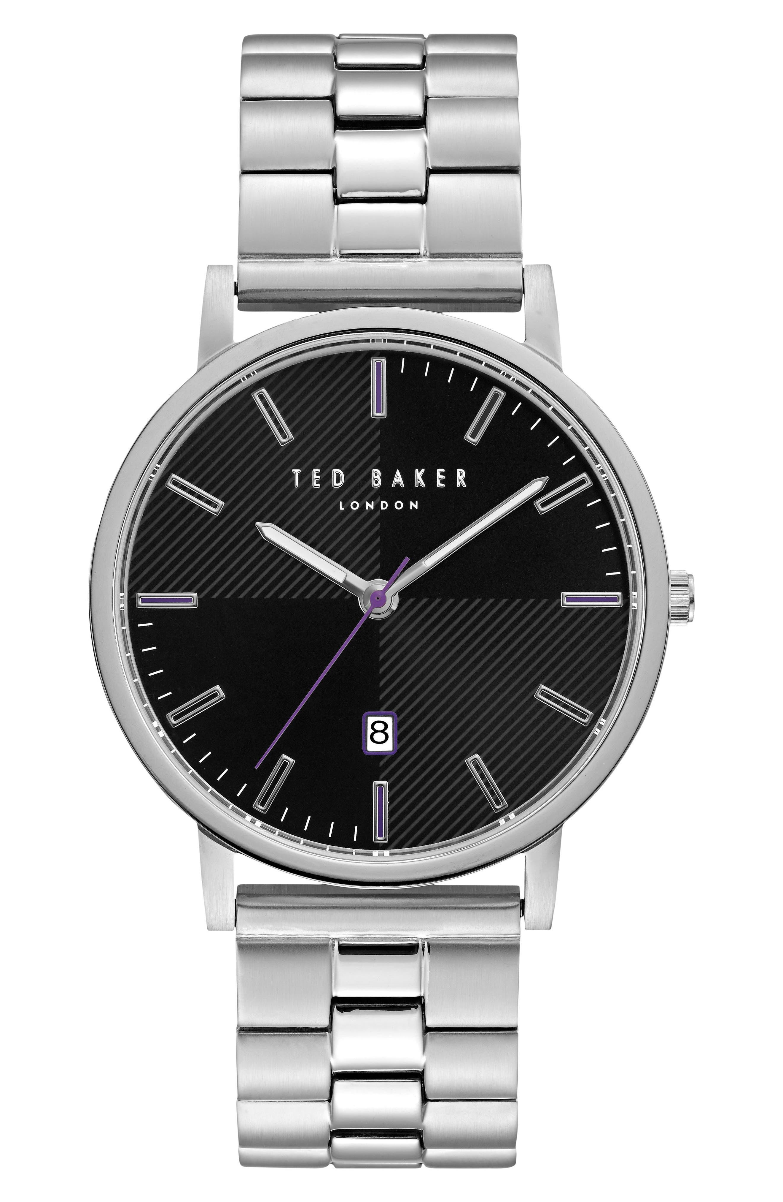Main Image - Ted Baker London Dean Bracelet Watch, 40mm