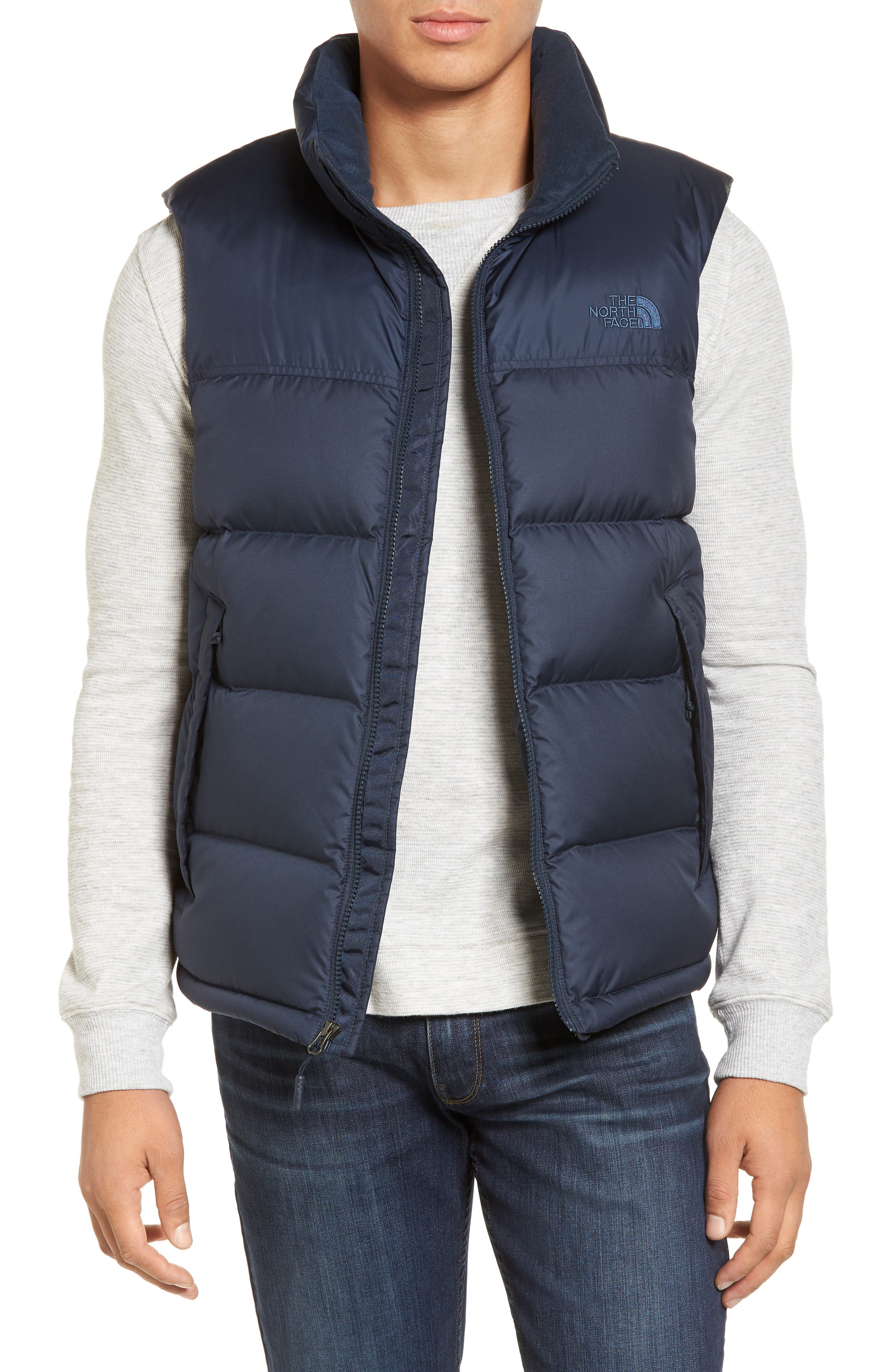 Alternate Image 1 Selected - The North Face Nuptse Water Repellent Down Vest