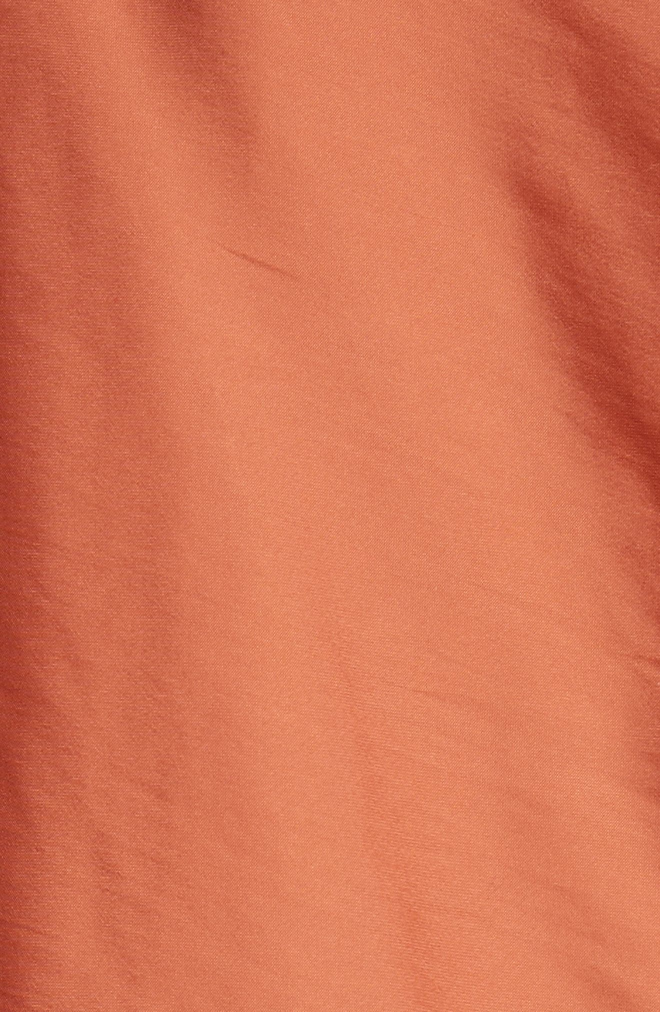 Drape Blouse,                             Alternate thumbnail 7, color,                             Tumeric