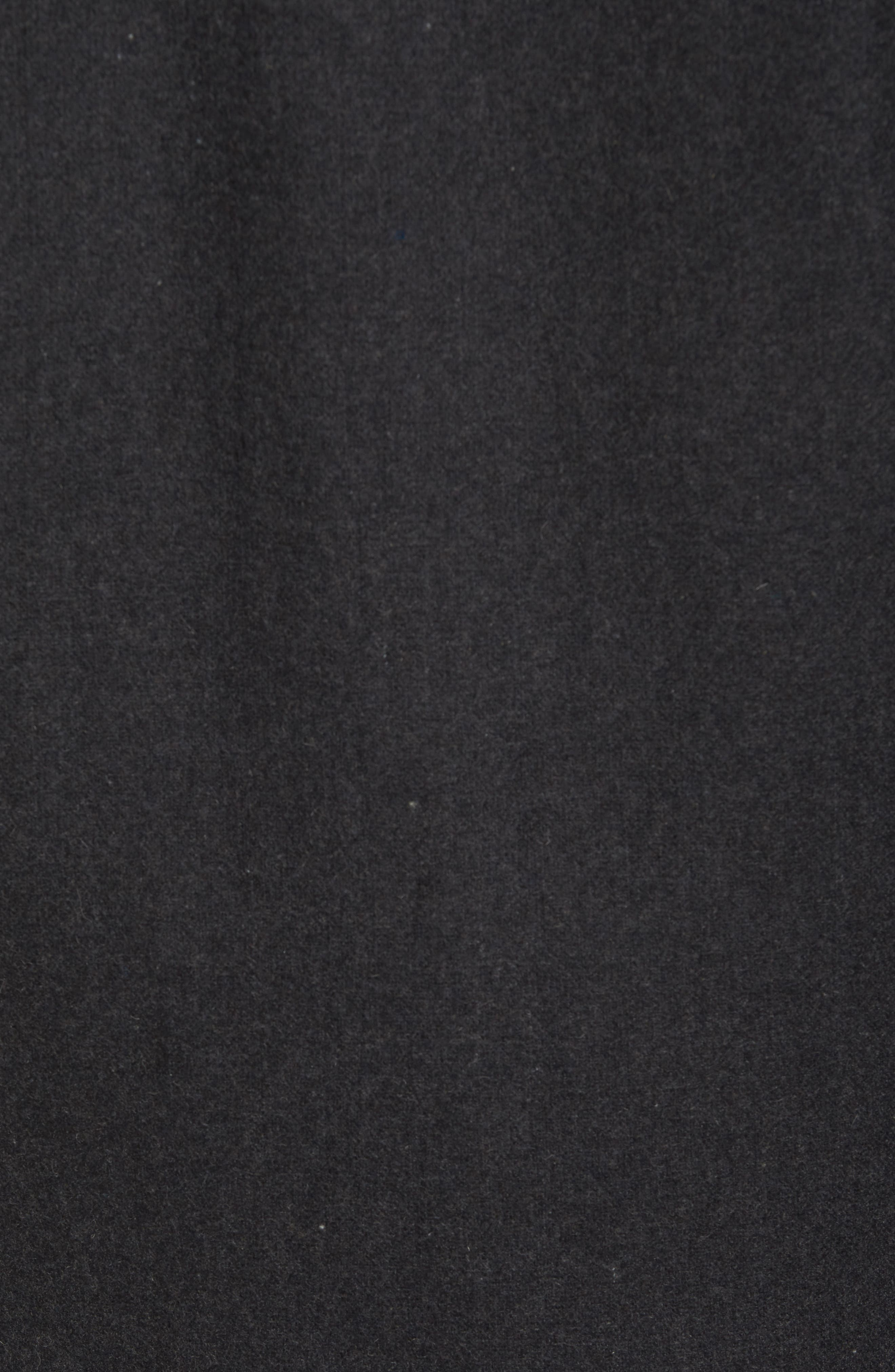 Button Front Coat,                             Alternate thumbnail 5, color,                             Charcoal