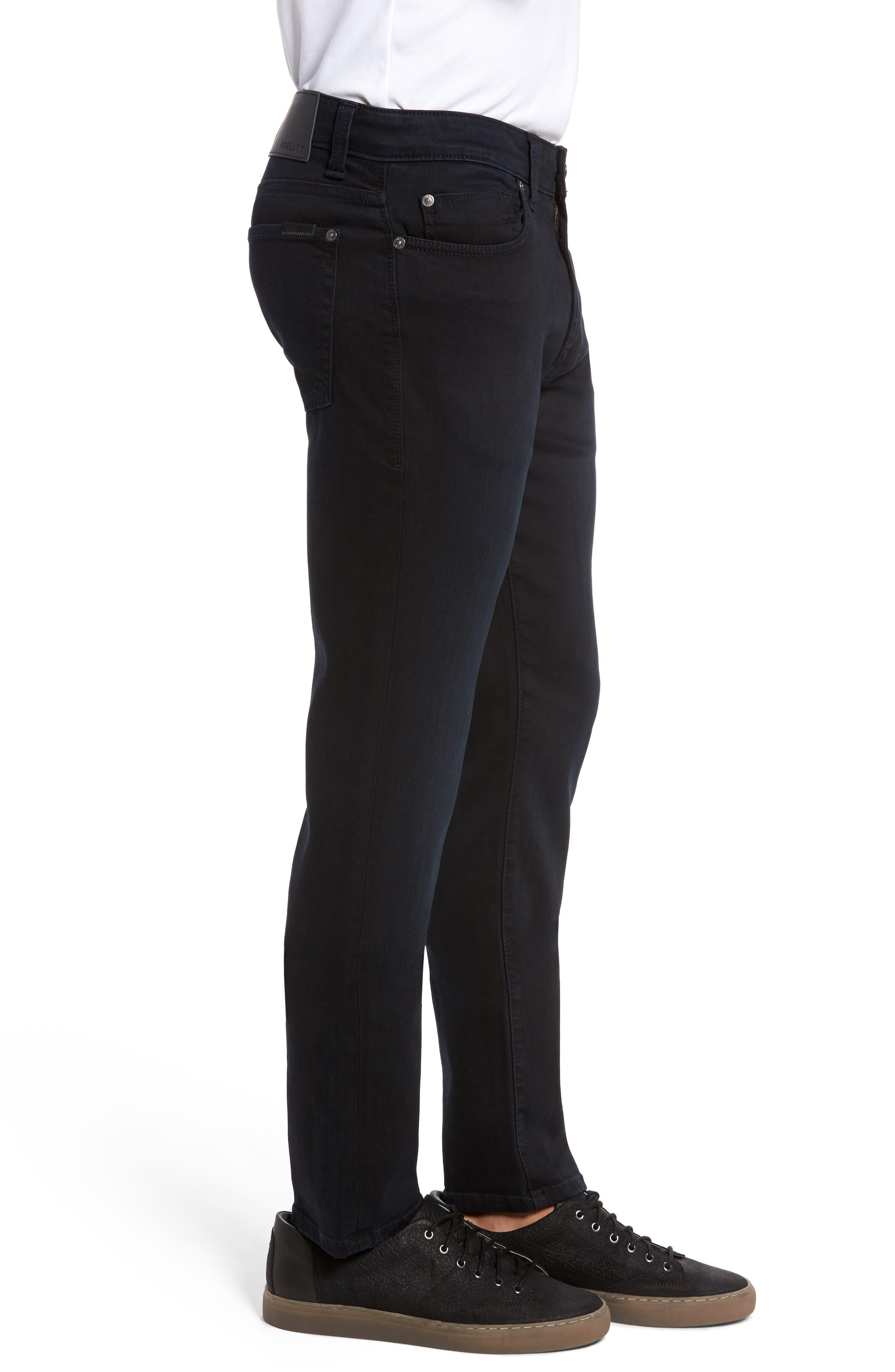 Torino Slim Fit Jeans,                             Alternate thumbnail 3, color,                             Saffire Blue