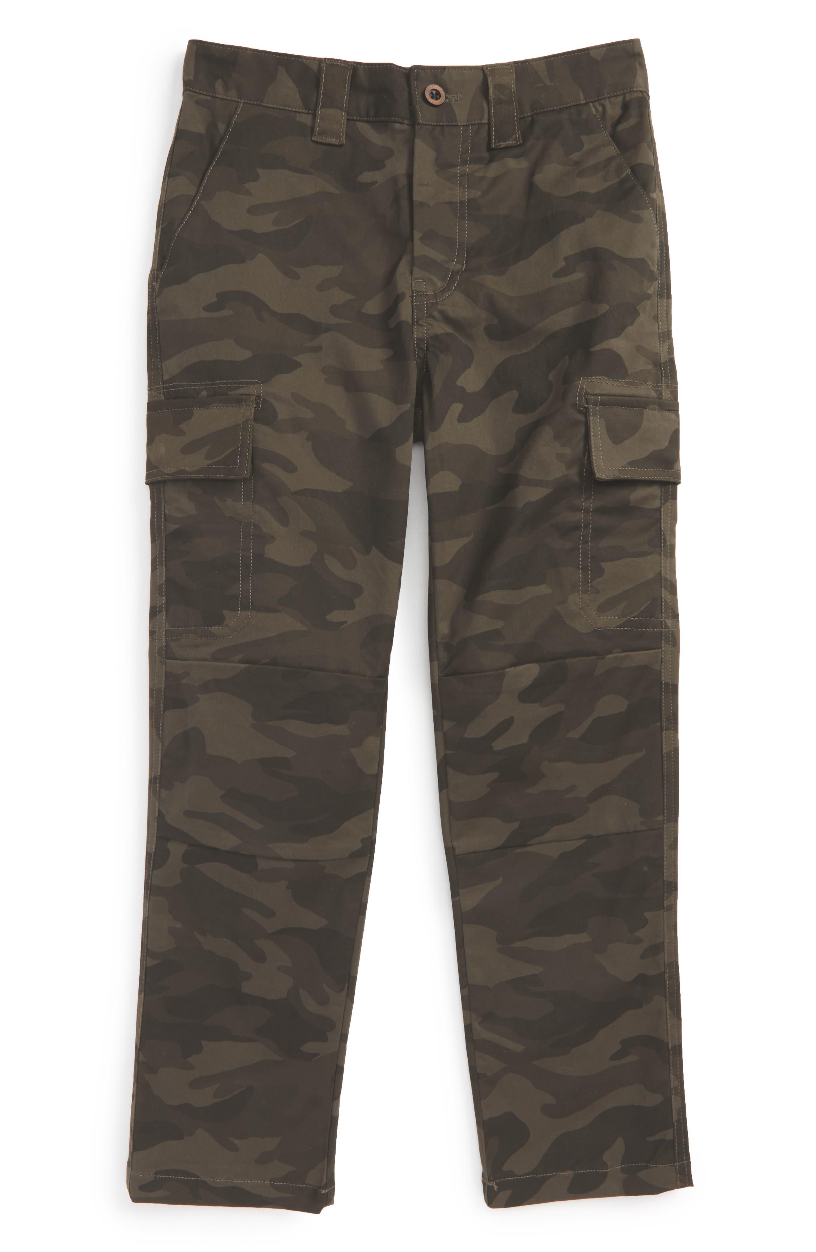 Cargo Pants,                         Main,                         color, Camo