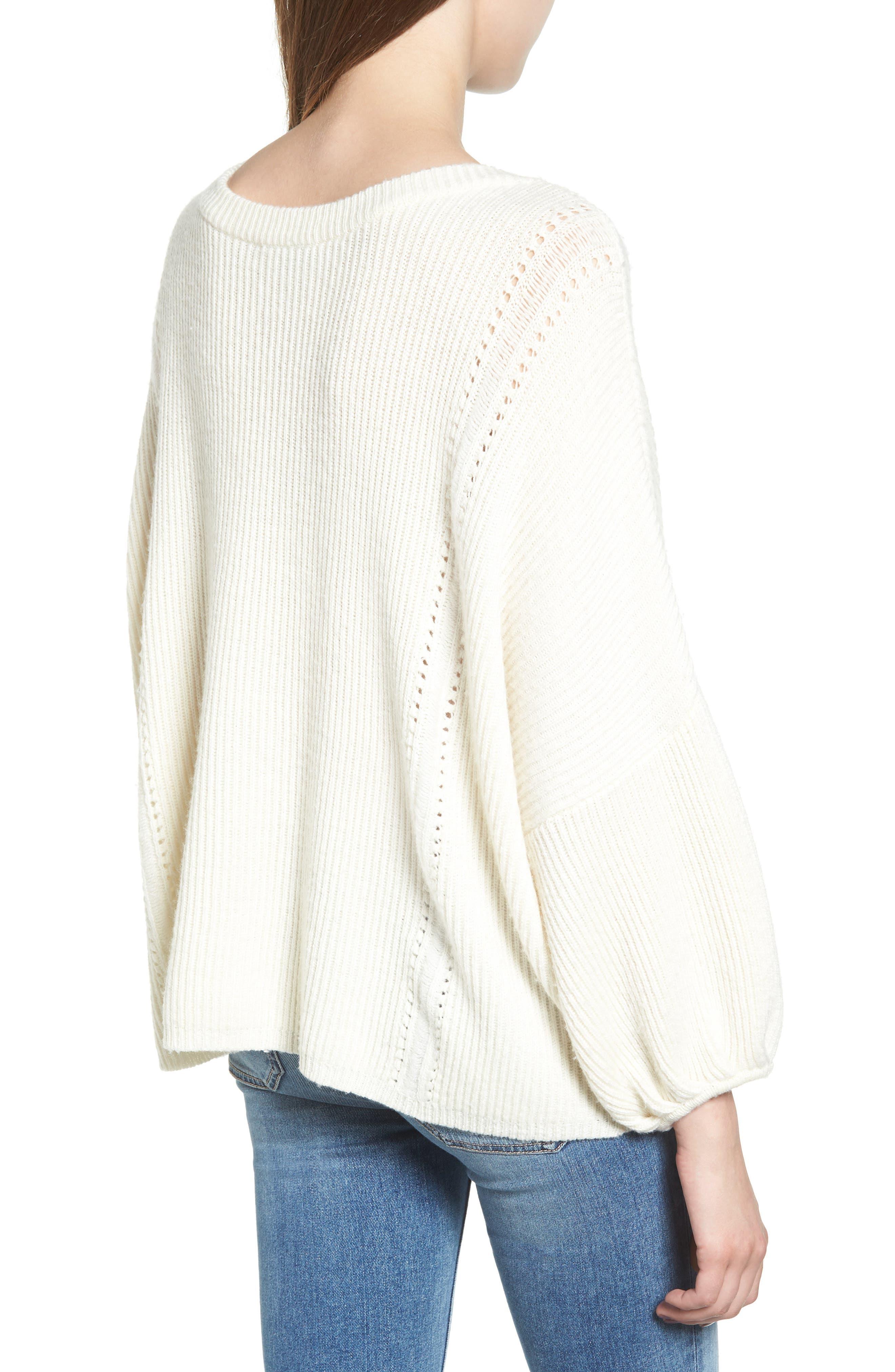 Alternate Image 2  - Ella Moss Delfina Ribbed Sweater