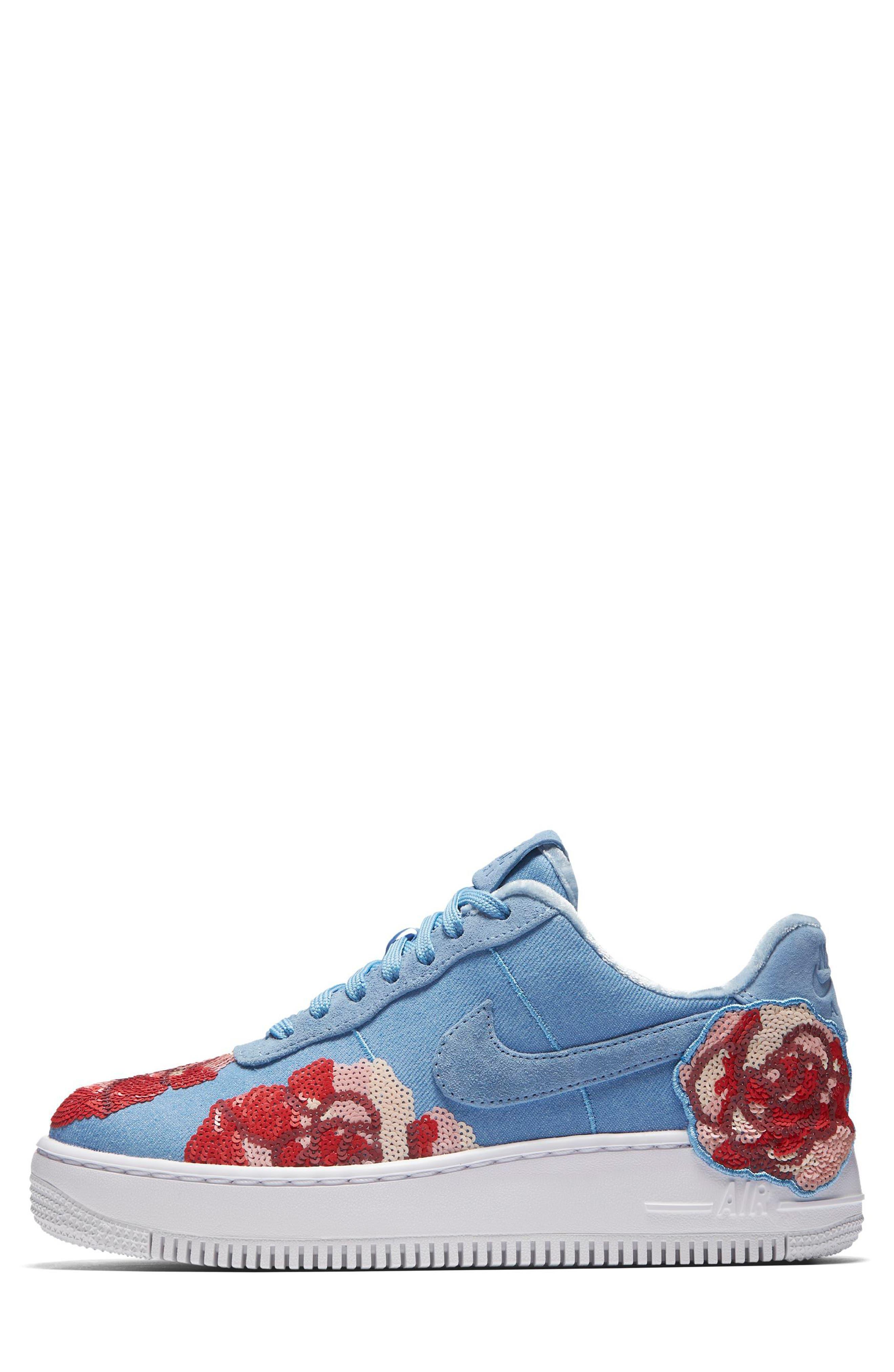 Alternate Image 3  - Nike Women's Air Force 1 Upstep LX Shoe (Women)