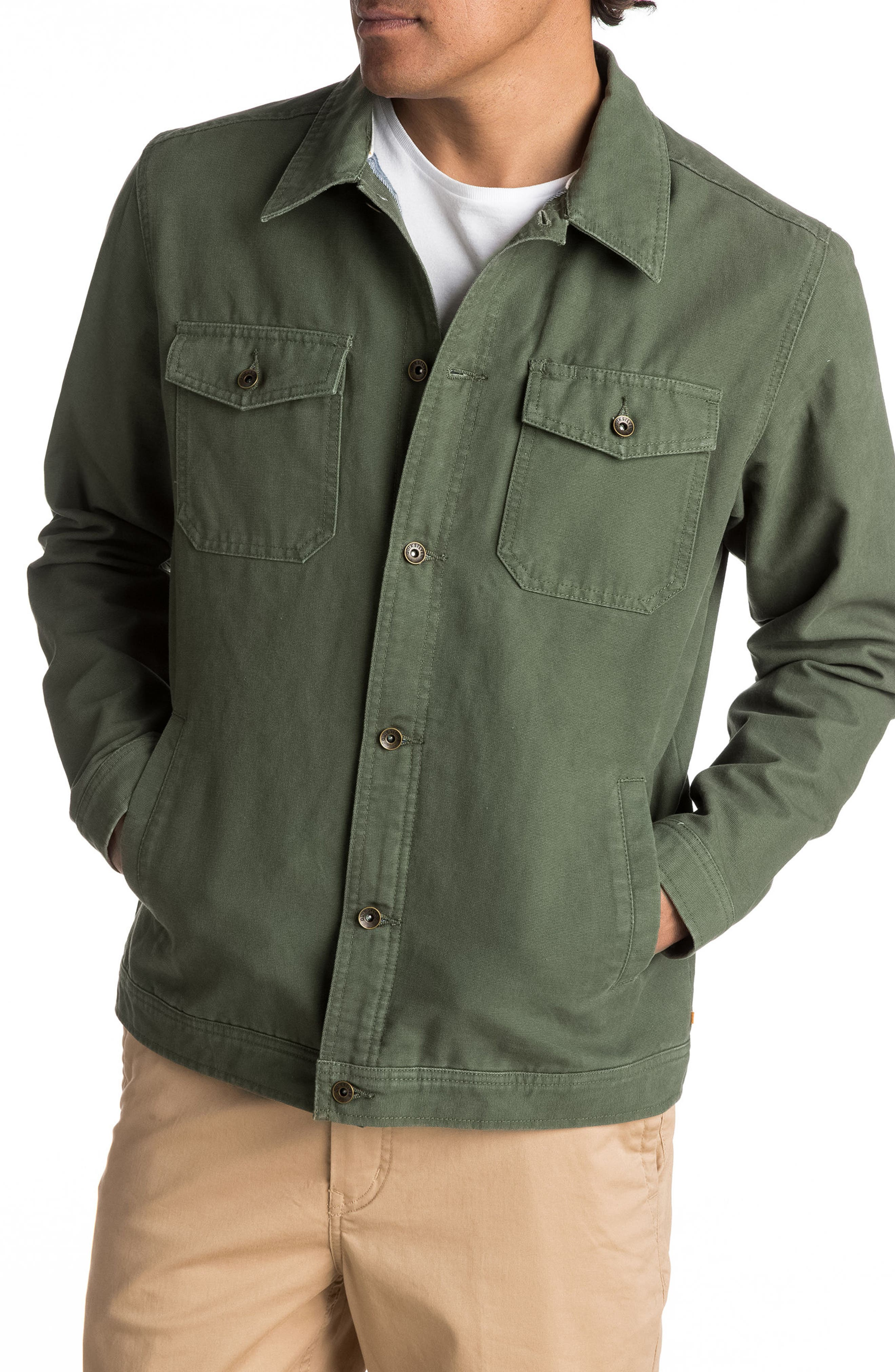 Alternate Image 2  - Quiksilver Waterman Collection Tradie Canvas Jacket