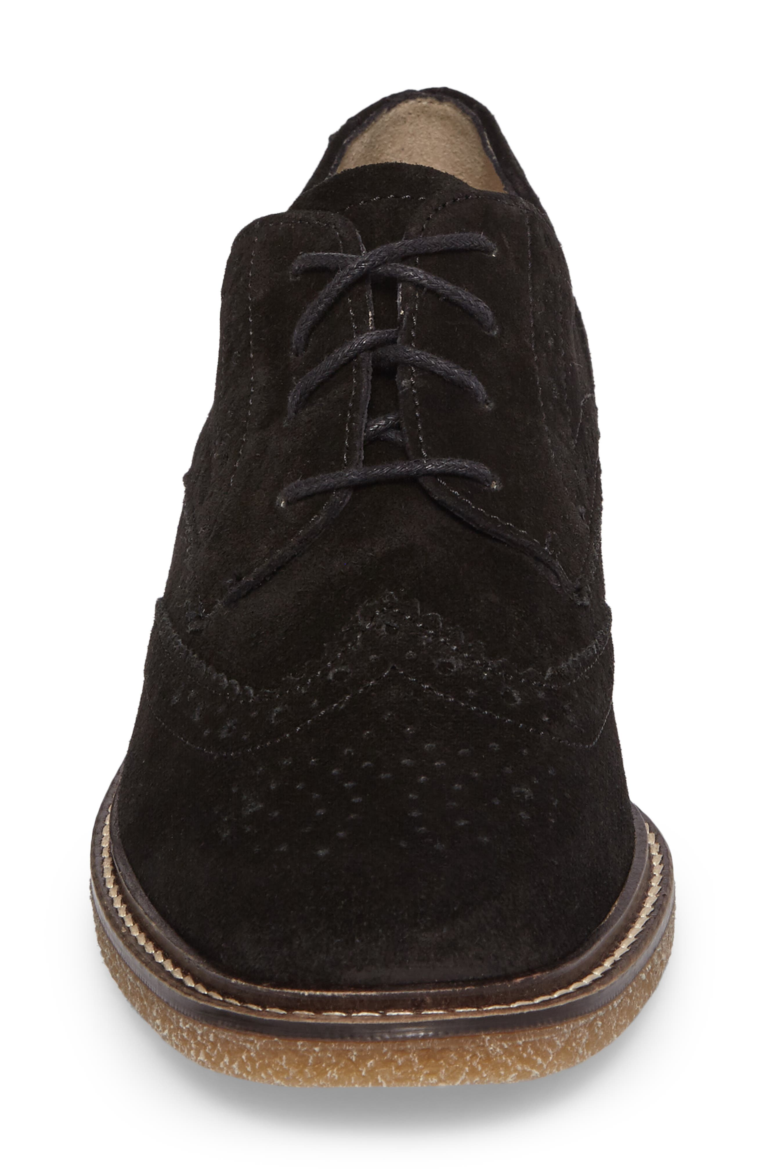 Kathleen Oxford,                             Alternate thumbnail 4, color,                             Black Suede