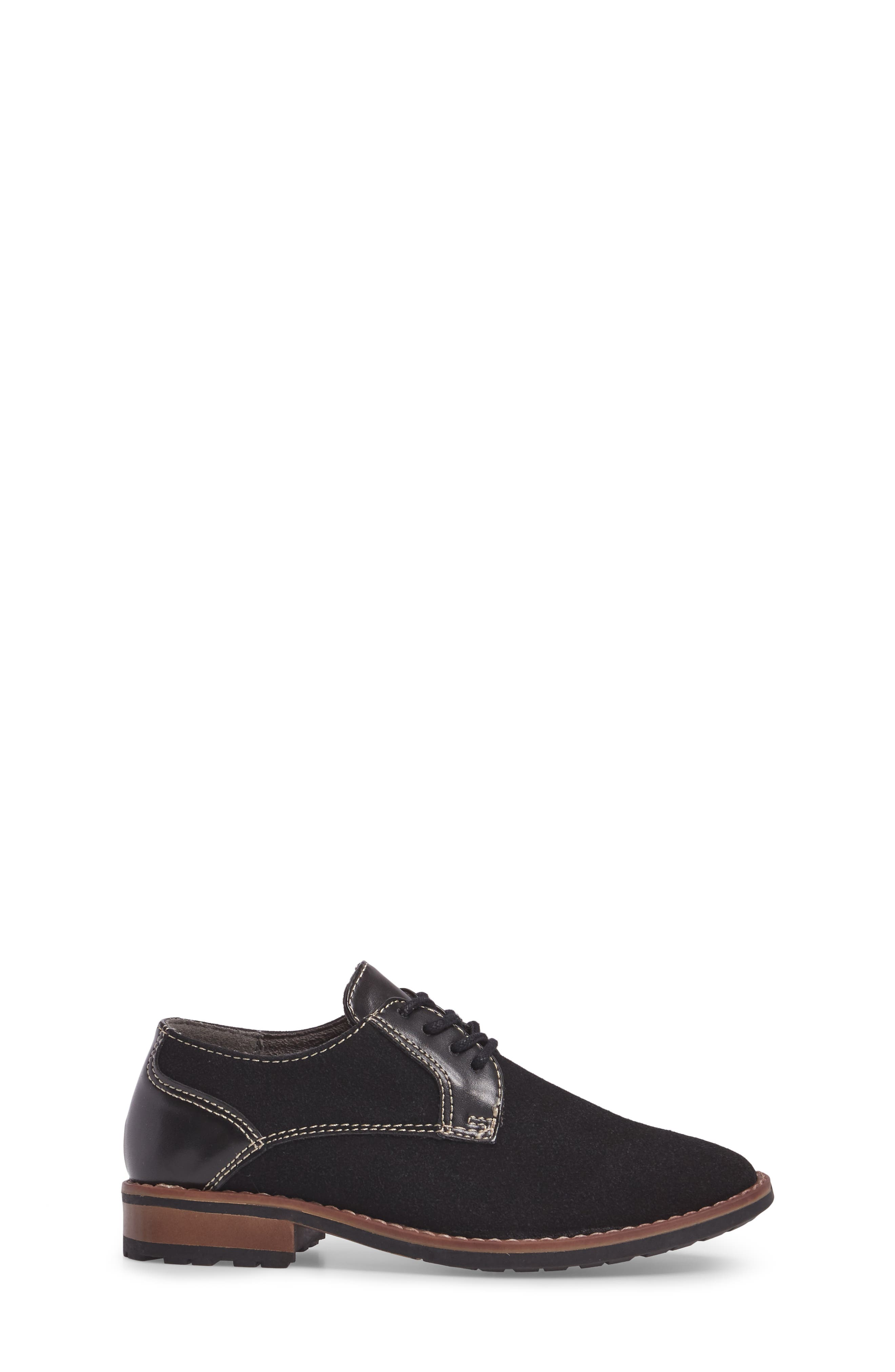Alternate Image 3  - Steve Madden Fold Plain Toe Derby (Little Kid & Big Kid)