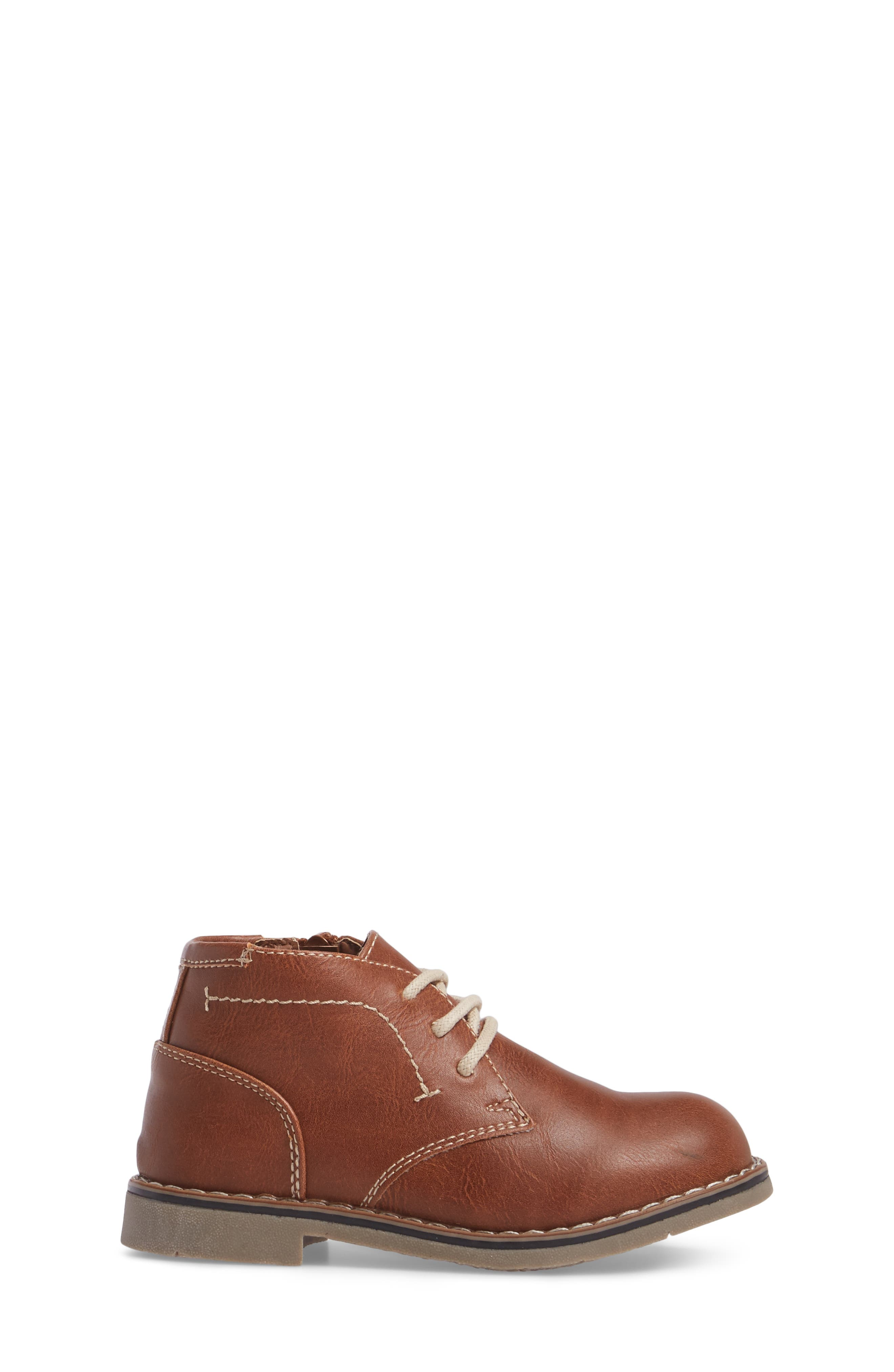 Chukka Boot,                             Alternate thumbnail 3, color,                             Cognac